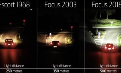 • Το νέο Ford Focus είναι το πρώτο αυτοκίνητο με τεχνολογία φωτισμού που διαβάζει σήματα οδικής κυκλοφορίας και σημάνσεις λωρίδων, και προσαρμόζει τις δέσμες των προβολέων ανάλογα με το τι υπάρχει μπροστά, ή ακόμα και μετά τη στροφή • Το σύστημα φωτίζει καλύτερα δικυκλιστές και πεζούς σε διασταυρώσεις και κυκλικούς οδικούς κόμβους, και αντιδρά πριν καν ο οδηγός δώσει εντολή στο τιμόνι, προάγοντας έτσι την οδική ασφάλεια τη νύχτα • Το σύστημα δεν βασίζεται σε GPS που δεν περιλαμβάνει πάντα με ακρίβεια τις αλλαγές του δρόμου. Το νέο Ford Focus φωτίζει καμπύλες του δρόμου πριν καν ο οδηγός χρειαστεί να στρίψει το τιμόνι Η νυχτερινή οδήγηση προκαλεί άγχος και ανησυχία σε πολλούς από εμάς. Οι νέες τεχνολογίες φωτισμού της Ford είναι σχεδιασμένες για να προσφέρουν μεγαλύτερη αίσθηση ασφάλειας και άνεσης όταν πέφτει το σκοτάδι. Με το νέο Ford Focus, η εταιρία γίνεται η πρώτη στη βιομηχανία που χρησιμοποιεί σήματα οδικής κυκλοφορίας και σημάνσεις λωρίδων ως πρότυπο για προσαρμογή της δέσμης των προβολέων, ώστε να φωτίζεται καλύτερα ο δρόμος μπροστά. Αυτό σημαίνει, ότι η δέσμη μπορεί να διευρύνεται όταν το όχημα πλησιάζει σε μία κυκλική διασταύρωση, κάνοντας πιο ευδιάκριτους πεζούς και δικυκλιστές που κινούνται δίπλα στο κράσπεδο. Αντί να βασίζεται σε χαρτογράφηση του GPS, που δεν περιλαμβάνει πάντα τις τελευταίες αλλαγές στους δρόμους, το νέο σύστημα προσφέρει προειδοποιήσεις σε πραγματικές συνθήκες για το τι υπάρχει μπροστά. Αξιοποιώντας τεχνολογίες κάμερας και φωτισμού, το νέο Adaptive Front Lighting System της Ford παρακολουθεί τις σημάνσεις των λωρίδων για να κατευθύνει τις δέσμες των προβολέων στις στροφές, πριν καν ο οδηγός γυρίσει το τιμόνι. «Όνειρό μας είναι να κάνουμε τη νυχτερινή οδήγηση το ίδιο εύκολη με την οδήγηση στο φως της μέρας. Οι τελευταίες μας τεχνολογίες φωτισμού συντελούν στην υλοποίηση του σχεδίου μας» δήλωσε ο Michael Koherr, μηχανικός έρευνας φωτισμού, Ford Ευρώπης. «Σε όλη την Ευρώπη το 15% των δρόμων αλλάζουν κάθε χρόνο. Όσο χρήσιμο και αν είναι τ