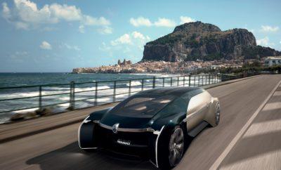 Renault EZ-ULTIMO Ένα ρομποτικό όχημα για premium μετακινήσεις • Το EZ-ULTIMO θέτει τις βάσεις για μία αναβαθμισμένη εμπειρία μετακίνησης για όλους, είτε για μία ώρα, είτε για μία μέρα. • Σαν ένα «ιδιωτικό σαλόνι σε τροχούς», το EZ-ULTIMO μπορεί να επεκτείνει την εμπειρία ενός ξενοδοχείου, ενός καταλύματος ή μιας αεροπορικής εταιρείας. • Το EZ-ULTIMO ολοκληρώνει την τριπλέτα των concept cars της Renault που αποτυπώνουν το μέλλον των αστικών, κοινόχρηστων μεταφορών. • Παράλληλα, το EZ-ULTIMO βοηθάει τον επιβάτη να ανακαλύψει από την αρχή τη ζωή εν κινήσει, προσφέροντας on-demand περιεχόμενο. Στην έκθεση αυτοκινήτου του Παρισιού, το Groupe Renault παρουσίασε το EZ-ULTIMO, ένα ρομποτικό, αυτόνομο, ηλεκτρικό, διασυνδεδεμένο concept car, που αποτελεί μια πλατφόρμα για υπηρεσίες κοινόχρηστης μετακίνησης, προσφέροντας μια premium εμπειρία εν κινήσει. Διαθέσιμο κατόπιν παραγγελίας, για μία ώρα, ή για μία μέρα το EZ-ULTIMO αφορά σε ανθρώπους που θέλουν να αναβαθμίσουν την εμπειρία μιας ιδιωτικής βόλτας στην πόλη, μιας πολυτελούς τουριστικής εμπειρίας, ή ακόμα και στις επιχειρήσεις που επιθυμούν να επεκτείνουν την premium εμπειρία που προσφέρουν στους πελάτες τους και στις μετακινήσεις τους. «Καθώς οι καταναλωτικές ανάγκες διαφοροποιούνται και οι άνθρωποι προτιμούν όλο και περισσότερο κοινόχρηστες υπηρεσίες για τις μετακινήσεις τους, ένα νέο είδος μεταφορών είναι έτοιμο να αναδυθεί. Κάνοντας πράξη αυτή την επαναστατική εξέλιξη, το EZ-ULTIMO προσφέρει μια μοναδική, πολυτελή εμπειρία πάνω σε ένα ρομποτικό όχημα το οποίο μπορεί να προσαρμοστεί ανάλογα την εταιρεία που προσφέρει την υπηρεσία αυτή. Εμπνευσμένο από τη σύγχρονη αρχιτεκτονική και απόλυτα προσαρμοσμένο στις ανάγκες των μελλοντικών έξυπνων πόλεων, EZ-ULTIMO μπορεί να προσφέρει μια μοναδική premium εμπειρία για όλους. Με τα αυτόνομα, ηλεκτρικά και διασυνδεδεμένα αυτοκίνητα μπαίνουμε σε μία νέα, ενθουσιώδη εποχή για το σχεδιασμό των οχημάτων» δήλωσε ο Laurence van den Acker, Αντιπρόεδρος Εταιρικού Σχεδιασμού του Groupe R