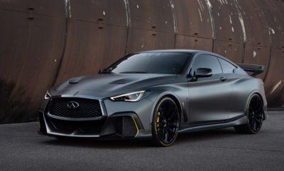 """INFINITI Project Black S: Το απόλυτο αυτοκίνητο δρόμου με τεχνολογία μηχανοκίνητου αθλητισμού. Βασισμένο στο σπορ κουπέ INFINITI Q60, το """"Project Black S"""" είναι ένα επίτευγμα της μηχανικής που διερευνά πώς η τεχνολογία διπλού υβριδικού κινητήρα της Formula 1, θα μπορούσε να αναπτυχθεί σε ένα αυτοκίνητο δρόμου. Το πρωτότυπο ανάπτυξης του Q60 Project Black S, αντιπροσωπεύει το μέγιστο επίπεδο απόδοσης, τις δυναμικές δυνατότητες, την αποτελεσματική αεροδυναμική και την έξυπνη διαχείριση ενέργειας που μπορεί να προσφέρει η INFINITI. Η παγκόσμια πρώτη διπλή υβριδική τεχνολογία, προέρχεται από τη Formula One και έχει σχεδιαστεί ειδικά για το δρόμο, με ενδεχόμενο να κατασκευαστεί μια νέα ναυαρχίδα επιδόσεων. Δείχνει επίσης τη δέσμευση της INFINITI για την ανάπτυξη συναρπαστικών ηλεκτροκίνητων κινητήρων υψηλής απόδοσης. Το Project Black S συνδυάζει κορυφαία διπλή υβριδική τεχνολογία με τον βραβευμένο V6, twin-turbo κινητήρα 3.0 λίτρων της INFINITI. Το μοναδικό """"σύστημα ανάκτησης ενέργειας"""" (ERS) συμβάλλει στην αύξηση της ισχύος και της ροπής. Το πρωτότυπο του διπλού υβριδικού κινητήρα παράγει 420 kW που ισοδυναμεί με 563hp ή 571ps, ενώ ο συμβατικός κινητήρας VR30 παράγει 298 kW (400hp / 405ps). Ο λόγος ισχύος/βάρους εκτιμάται σε 235 W/kg, επιτυγχάνοντας επιτάχυνση 0-100 km σε κάτω από τέσσερα δευτερόλεπτα. Το κινητήριο σύνολο του πρωτοτύπου, ενσωματώνει τρεις μονάδες κινητήρων (MGU). Κάθε MGU-K ('K' σημαίνει 'kinetic') συλλέγει κινητική ενέργεια από το φρενάρισμα. Παράλληλα, οι διπλοί ηλεκτρικοί υπερσυμπιεστές του κινητήρα είναι εξοπλισμένοι με δύο μονάδες MGU-H (όπου 'H' για 'θερμότητα'), για την επεξεργασία της θερμικής ενέργειας από τα καυσαέρια. Αυτό επιτρέπει στον κινητήρα να παράγει ηλεκτρική ισχύ τόσο υπό την πέδηση, όσο και κατά την επιτάχυνση. Το πρωτότυπο είναι επίσης το πρώτο όχημα INFINITI με ηλεκτρομηχανικά χειριστήρια ελέγχου 'by-wire'. Παράλληλα με την 'by-wire' επιτάχυνση και τις αλλαγές ταχυτήτων, καθώς και το 'by-wire' Direct Adaptive Steering σύστημα οδήγ"""
