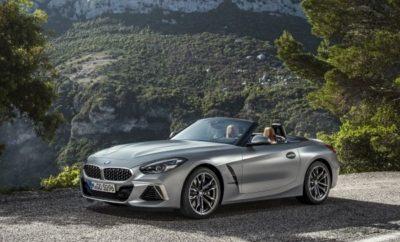 Το κλασικό roadster επαναπροσδιορίζεται και είναι πιο σπορ από ποτέ: η νέα BMW Z4 συνδυάζει τον δυναμισμό ενός σπορ αυτοκινήτου με μία σχεδίαση που απευθύνεται στο συναίσθημα, ένα αποκλειστικό περιβάλλον και προηγμένα στοιχεία εξοπλισμού. Η γνήσια οδηγική απόλαυση συναντά την προηγμένη τεχνολογία κινητήρων, πλαισίου, ελέγχου και συνδεσιμότητας. Η νέα BMW Z4 είναι μία πολύ μοντέρνα προσθήκη στη μακρά ιστορία της μάρκας στα συναρπαστικά μοντέλα roadster. Διθέσια με πλήρως ηλεκτρικό, υφασμάτινο soft-top. Ανανεωμένες αναλογίες, κεντρική θέση καθισμάτων, μικρότερο μεταξόνιο για αυξημένη ευελιξία και φαρδύτερα μετατρόχια από την προκάτοχό της. Μέτρα εξοικονόμησης βάρους και ιδανική κατανομή βάρους 50 : 50, αεροδυναμικά βελτιστοποιημένο αμάξωμα. Εξωτερική σχεδίαση με έμφαση στην αισθητική ακρίβεια και την στιλιστική ταυτότητα. Προβολείς τοποθετημένοι στα εξωτερικά άκρα του εμπρός τμήματος και σε κάθετη διάταξη για πρώτη φορά. Προβολείς LED στάνταρ, προσαρμοζόμενοι προβολείς LED με λειτουργία matrix για αντιθαμβωτική μεγάλη σκάλα και φώτα στροφών, προαιρετικά. Μεγάλη μάσκα νεφρών BMW με νέο σχέδιο πλέγματος. Μεγάλο καπό με έντονο περίγραμμα εκτείνεται μέχρι τους θόλους των τροχών. Μεγάλα Air Breathers από όπου ξεκινούν οι γραμμές και οι πλευρικές επιφάνειες που καθορίζουν τα πλευρά. Μυώδες, ανάγλυφο πίσω τμήμα με αρμονικά ενσωματωμένη αεροτομή, λεπτά φώτα LED και διαχύτης. Μοντέρνο, οδηγοκεντρικό εσωτερικό με ποιοτικό στυλ, γραμμές που κινούνται δυναμικά προς τα εμπρός και άριστα οργανωμένα πάνελ ελέγχου. Η απέριττη αισθητική ενισχύει τον αυθεντικό χαρακτήρα. Οι γραμμές των πάνελ θυρών παραπέμπουν σε εξωτερικά γραφιστικά στοιχεία που φαίνονται από το πλάι. Εκθεσιακή πρεμιέρα τον Οκτώβριο του 2018 στο Σαλόνι Αυτοκινήτου του Παρισιού. Λανσάρισμα το Μάρτιο του 2019 με δυνατότητα επιλογής από τρεις εκδόσεις: BMW Z4 M40i BMW M Performance (κατανάλωση μικτού κύκλου: 7.4 – 7.1 l/100 km CO2 εκπομπές στο μικτό κύκλο: 168 – 162 g/km)* με νέο, εξακύλινδρο εν σειρά κινητήρα 250 kW/340 