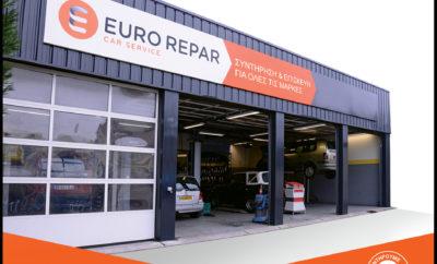 """Ο Όμιλος Συγγελίδη στα πλαίσια της ευρύτερης ανάπτυξής του στην αγορά του αυτοκινήτου, αλλά και στις υπηρεσίες μετά την πώληση, σε συνεργασία με το Group PSA, επενδύει σήμερα στην ανάπτυξη του διεθνούς δικτύου EURO REPAR CAR SERVICE στην Ελλάδα. Η εταιρία EURO REPAR CAR SERVICE ανήκει στo Group PSA, εναν όμιλο που είναι από τους σημαντικότερους πρωταγωνιστές στο χώρο του αυτοκινήτου σε παγκόσμιο επίπεδο στην κατασκευή και τεχνική υποστήριξη οχημάτων. Στα συνεργεία του δικτύου EURO REPAR CAR SERVICE πραγματοποιούνται εργασίες συντήρησης και επισκευής οχημάτων όλων των μαρκών, αποτελώντας σημείο αναφοράς για τους κατόχους αυτοκινήτων ανά τον κόσμο. Το δίκτυό της αποτελείται απο χιλιάδες Ανεξάρτητους Επισκευαστές οι οποίοι εντάσσονται στο στρατηγικό πλάνο «Push to Pass» του Group PSA. Το συγκεκριμένο πλάνο στοχεύει κυρίως στην αύξηση του κύκλου εργασιών τους, τη διεύρυνση του πελατολογίου τους και την ενδυνάμωση της σχέσης εμπιστοσύνης με τους πελάτες τους. Στα πλαίσια των Υπηρεσιών After Sales, αυτό μεταφράζεται σε μια απλή φιλοσοφία της εταιρίας: """"Nα ανταποκριθούμε στις προσδοκίες όλων των πελατών, ανεξάρτητα από την αγοραστική δύναμη τους, την μάρκα και την ηλικία του οχήματός τους"""". Αυτή η στρατηγική έχει ως βάση την παροχή μιας πλήρους γκάμας ανταλλακτικών με την επωνυμία EUROREPAR, ενός ιδιαίτερα ανταγωνιστικού Δικτύου multibrand επισκευαστών παγκόσμιας εμβέλειας και ένος πρωτοπόρου συστήματος διανομής ανταλλακτικών. Τα συνεργεία του Δικτύου EURO REPAR CAR SERVICE ικανοπoιούν πλήρως τους πελάτες εκείνους που αναζητούν την οικονομικότερη λύση για τη συντήρηση και την επισκευή του οχήματός τους, αλλά χωρις συμβιβασμό σε θέματα ποιότητας των ανταλλακτικών και των παρεχόμενων υπηρεσιών, προσφέροντας: • Άμεση και φιλική εξυπηρέτηση, ειλικρίνεια και διαφάνεια στις πραγματοποιηθείσες εργασίες • Την διασφάλιση που παρέχει μια διεθνούς αναγνωρισιμότητας μάρκα η οποία υποστηρίζεται από το Group PSA • Την σιγουριά ότι οι απαιτούμενες εργασίες θα πραγματοποιηθούν άμεσα χάρη """