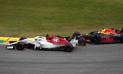 H Alfa Romeo Sauber F1 Team φεύγει από το Σάο Πάολο μετά από έναν φανταστικό αγώνα του Charles Leclerc και εδραιωμένη στην 8η θέση του πρωταθλήματος Κατασκευαστών. Η απόδοση στις κατατακτήριες δοκιμές ήταν πολύ δυνατή, η καλύτερη της σεζόν για την Ελβετική ομάδα. Ο Marcus Ericsson και ο Charles Leclerc ξεκίνησαν από την 6η και 7η θέση της εκκίνησης, αναζητώντας βαθμούς με κάθε τρόπο. Τα πάντα συνηγορούσαν για ένα δυνατό αγώνα, δυστυχώς όμως η ένταση της εκκίνησης στο Βραζιλιάνικο Grand Prix, είχε ως αποτέλεσμα να εξελιχθούν δυο διαφορετικοί αγώνες για τους οδηγούς μας. Ενώ ο Charles Leclerc είχε μια δυνατή εκκίνηση και κέρδισε θέσεις στον πρώτο γύρο, ο Marcus Ericsson βρέθηκε αντιμέτωπος με ένα διαφορετικό σετ προκλήσεων. Ανυπομονώντας να εκμεταλλευτεί στο μέγιστο τη δυνατή του θέση, ο Σουηδός οδηγός έκανε ότι μπορούσε για να την διατηρήσει, παρότι είχε μια δύσκολη μάχη μπροστά του. Μετά από μια επαφή μ' ένα άλλο μονοθέσιο στους πρώτους γύρους αντιμετώπισε πρόβλημα στην εμπρός πτέρυγα και στο πάτωμα. Παρότι η ομάδα τον έβαλε στα πιτ και προσπάθησε να φτιάξει το μονοθέσιό του, τελικά υποχρεώθηκε σε εγκατάλειψη. Από την άλλη πλευρά ο Leclerc είχε ακόμη μια δυνατή και σταθερή απόδοση, δίνοντας μάχη στο άνω άκρο του μέσου της κατάταξης καθόλη τη διάρκεια του αγώνα. Τερματίζοντας 7ος, για 3η φορά φέτος ο πρωτάρης Μονεγάσκος πήρε άλλους 6 βαθμούς και ανέβηκε στην 14η θέση του πρωταθλήματος Οδηγών, έχοντας συνολικά 33 βαθμούς. Η Alfa Romeo Sauber F1 Team έχει μαζέψει 42 βαθμούς και βρίσκεται στην 8η θέση του Πρωταθλήματος Κατασκευαστών. Ο Marcus Ericsson βρίσκεται στην 17η θέση του πρωταθλήματος Οδηγών. με συγκομιδή 9 βαθμών φέτος. Marcus Ericsson (μονοθέσιο Νο 9): C37 (Chassis 05/Ferrari) Αποτέλεσμα: Εγκατέλειψε. Εκκίνησε με την πολύ μαλακή γόμα και μετά από 18 γύρους έβαλε τη μέση γόμα. «Απογοητευτικό φινάλε ενός σπουδαίου Σαββατοκύριακου. Είχα επαφή μ' ένα άλλο μονοθέσιο μετά την εκκίνηση. Ως αποτέλεσμα το μονοθέσιο ήταν δύσκολο στην οδήγηση. Άλλαξε η ισορροπία κρατήματ