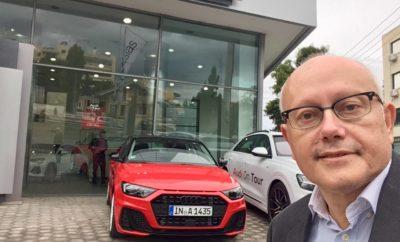 Για 3η χρονιά διοργανώνεται το Audi on Tour, μία εκδήλωση που προσφέρει την ευκαιρία οδήγησης ξεχωριστών μοντέλων της Audi Στο εφετινό Audi on Tour ξεχωρίζουν τα ολοκαίνουργια Q3 και A1, που για πρώτη φορά είναι διαθέσιμα στο ευρύ κοινό για test–drive Στο πρόγραμμα συμμετέχουν 13 πόλεις σε όλη την Ελλάδα Έναρξη την Τετάρτη 14/11 από την Αθήνα, λήξη στο Ηράκλειο Κρήτης στις 12 Δεκεμβρίου Περισσότερες πληροφορίες στο www.audiontour.gr Για 3η συνεχόμενη χρονιά η Audi διοργανώνει το Audi on Tour, ένα πρωτότυπο road trip που δίνει την ευκαιρία σε όλους – και όχι μόνο στους φίλους της μάρκας – να οδηγήσουν τα μοντέλα της. Με εκκίνηση την Τετάρτη 14 Νοεμβρίου στην Αθήνα και αφού πρώτα περάσει από τέσσερα διαφορετικά σημεία στο λεκανοπέδιο, το Audi on Tour θα επισκεφθεί 12 ακόμα πόλεις σε όλη την Ελλάδα, πριν ολοκληρωθεί στο Ηράκλειο της Κρήτης στα μέσα Δεκεμβρίου. Μέσα από την οδηγική εμπειρία που προσφέρει το Audi on Tour, οι συμμετέχοντες θα ανακαλύψουν την κορυφαία τεχνολογία των μοντέλων της Audi, θα απολαύσουν την άνεση και ασφάλεια που προσφέρουν τα προηγμένα τους συστήματα και φυσικά θα νιώσουν οι ίδιοι πώς είναι να βιώνεις στην καθημερινότητα αυτά τα ξεχωριστά αυτοκίνητα. Ο στόλος του εφετινού Audi on Tour, περιλαμβάνει δύο ολοκαίνουργια μοντέλα σε πρώτη αποκλειστική παρουσίαση: το Audi Q3, το best-seller SUV της μάρκας στη δεύτερη πλέον γενιά του, πιο εντυπωσιακό και ολοκληρωμένο από ποτέ! Με design που συναρπάζει και συστήματα και λειτουργίες από μεγαλύτερες κατηγορίες. Επίσης, το νέο Audi Α1, ένα απόλυτα οδηγοκεντρικό αυτοκίνητο με ανατρεπτικό design και κορυφαία sport οδική συμπεριφορά, που επαναπροσδιορίζει την κατηγορία των premium compact μοντέλων. Αξίζει να σημειωθεί ότι ενώ τα πρώτα Q3 και A1 της ελληνικής αγοράς αναμένονται το τελευταίο δεκαήμερο του Δεκεμβρίου, ειδικά για τις ανάγκες του εφετινού Audi on Tour, η Kosmocar-Audi «δανείστηκε» τα μοντέλα αυτά με γερμανικές πινακίδες από τα κεντρικά της Audi, προκειμένου να συμμετάσχουν στην εκδήλωση. Στο Audi