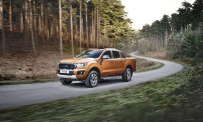 • Το νέο Ford Ranger προσφέρει ακόμα καλύτερες επιδόσεις σε σχέση με το παρελθόν και χαμηλότερη έως και 9% κατανάλωση καυσίμου. Στη γκάμα του μοντέλου εισάγονται προηγμένες τεχνολογίες συνδεσιμότητας και υποβοήθησης της οδήγησης • Ισχυρή και αναβαθμισμένη γκάμα κινητήρων, που περιλαμβάνει τον 2.0 EcoBlue diesel με έκδοση Bi-turbo με ισχύ 213 ίππων, συν το νέο και κορυφαίο σε λειτουργία 10-τάχυτο αυτόματο κιβώτιο της Ford • Το δημοφιλέστερο pick-up μοντέλο της Ευρώπης προσφέρει τώρα στο βασικό του εξοπλισμό τα συστήματα Pedestrian Detection και Intelligent Speed Limiter. Διατίθενται επίσης τα Active Park Assist, καθώς και η 'easy-lift' πίσω πόρτα • Το νέο Ranger θα είναι διαθέσιμο στην Ευρώπη από τα μέσα του 2019 Η Ford αποκάλυψε σήμερα για πρώτη φορά το νέο Ford Ranger pick-up, το οποίο ξεχωρίζει μεταξύ όλων των άλλων χαρακτηριστικών του για την αυξημένη του ισχύ του, τη βελτιωμένη κατανάλωση καυσίμου, την ακόμα πιο ραφιναρισμένη λειτουργία, καθώς και για τις προηγμένες τεχνολογίες υποστήριξης του οδηγού. Η κομψή και ευέλικτη νέα έκδοση του best seller pick-up* μοντέλου της γηραιάς ηπείρου αποκτά τώρα τον προηγμένο δίλιτρο EcoBlue diesel κινητήρα της Ford, o οποίος διαθέτει σύστημα επιλεκτικής καταλυτικής αναγωγής (SCR) για βελτιστοποιημένες εκπομπές ρύπων, προσφέροντας παράλληλα στις εκδόσεις με το προηγμένο αυτόματο κιβώτιο των 10 σχέσεων της Ford έως και 9% μικρότερη κατανάλωση καυσίμου. Στην κορυφή της γκάμας μηχανικών συνόλων του νέου Ranger βρίσκεται η πανίσχυρη έκδοση Bi-turbo του δίλιτρου EcoBlue κινητήρα, η οποία αποδίδει 213 ίππους και μέγιστη ροπή 500 Nm - με άλλα λόγια, 13 ίππους και 30 Nm παραπάνω από τον σημερινό 3.2 TDCi diesel – βελτιώνοντας μεταξύ άλλων και την ελκτική ικανότητα του οχήματος. Το νέο Ranger διατίθεται σε εκδόσεις Regular Cab, Super Cab και Double Cab και προσφέρεται με στάνταρ σύστημα τετρακίνησης. Επιπρόσθετα, διαθέτει νέα στοιχεία και «εργαλεία» που βελτιώνουν τα επίπεδα άνεσης, είτε ως επαγγελματικό είτε ως όχημα για δραστηριότητε