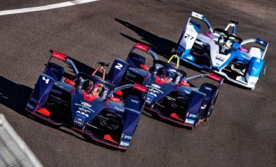 • Δύο Audi e-tron FE05 τερμάτισαν στη 2η και 3η θέση, στο 2ο αγώνα του πρωταθλήματος Formula E, που διεξήχθη στο Μαρόκο • Και τα 4 Audi e-tron FE05 που συμμετείχαν στον αγώνα τερμάτισαν «στους βαθμούς» • Το Audi e-tron FE05 κατέκτησε τους επιπλέον βαθμούς που δίνονται τόσο για την pole position όσο και για τον ταχύτερο γύρο Πολύ επιτυχημένη κρίνεται η παρουσία της Audi στο 2ο αγώνα του εφετινού πρωταθλήματος Formula E, που διεξήχθη στο Μαρακές του Μαρόκου. Συνολικά, στον αγώνα συμμετείχαν τέσσερα μονοθέσια Audi e-tron FE05, με τα δύο από αυτά να ανεβαίνουν στο βάθρο. Στην Audi κατέληξαν και οι επιπλέον βαθμοί που δίνονται στο μονοθέσιο που ξεκινάει τον αγώνα από την 1η θέση όσο και αυτοί για τον ταχύτερο γύρο. Ο αγώνας χαρακτηρίστηκε από το γεγονός ότι το αυτοκίνητο ασφαλείας έκανε την εμφάνισή του λίγο πριν το τέλος και αποσύρθηκε στον προτελευταίο μόλις γύρο. Ως αποτέλεσμα, οι όποιες στρατηγικές πήγαν περίπατο και επτά μονοθέσια βρέθηκαν να διεκδικούν τη νίκη στον τελευταίο γύρο, με το 1ο από το 7ο να τερματίζουν με διαφορά ελάχιστα πάνω από ένα δευτερόλεπτο ενώ κάποια από αυτά έπεσαν σχεδόν ταυτόχρονα στη γραμμή τερματισμού. Επόμενος αγώνας της Formula E το E-Prix στο Σαντιάγο της Χιλής, στις 26 Ιανουαρίου 2019.
