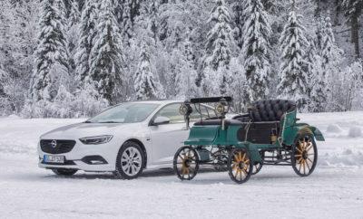 """Αποκλειστική επετειακή προσφορά: Opel Insignia """"120 Years"""" από €21.100. Δεκαετίες οδηγικής απόλαυσης: Kadett, Diplomat, Calibra, Insignia GSi και άλλα Απόλυτη ακρίβεια: πλαίσιο FlexRide και Twinster AWD με torque vectoring Αυτοκίνητα για όλους: Ο εκδημοκρατισμός τεχνολογιών κοινή πρακτική της μάρκας Η Opel κατασκευάζει αυτοκίνητα από το 1899. Όλα ξεκίνησαν με το Patentmotorwagen """"System Lutzmann"""" 4 ίππων – σύμφωνα με εταιρικό διαφημιστικό έντυπο εκείνης της εποχής, """"Always only the best of the best"""" ('Πάντα μόνο το καλύτερο των καλύτερων'). Το 2019, η Opel γιορτάζει 120 Χρόνια στην Παραγωγή Αυτοκινήτων – και επομένως 120 χρόνια καινοτομιών. Η Γερμανική εταιρία έχει μακρά παράδοση στη δημιουργία πρωτοποριακών τεχνολογιών και στην εφαρμογή τους στη μαζική παραγωγή. Οι ζωηροί κινητήρες και τα ανθεκτικά πλαίσια με άφθονη πρόσφυση ανέκαθεν έπαιζαν περίοπτο ρόλο – όπως στο 1.3 Litre με 'συγχρονισμένη ανάρτηση Opel', το Diplomat B με πίσω άξονα de Dion, το Rallye Kadett GT/E και το πολύ δυναμικό Calibra Turbo με τετρακίνηση. Το καλύτερο παράδειγμα αυτής της φιλοσοφίας σήμερα είναι η ναυαρχίδα της Opel: χάρη στο συνδυασμό τετρακίνησης Twinster all-wheel drive με κατανομή ροπής (torque vectoring) και πλαισίου FlexRide, το Insignia είναι πρωταθλητής της πρόσφυσης. Είναι αξιόπιστο παντού – ακόμα και το χειμώνα στο χιόνι και τον πάγο. Τώρα, το Insignia διατίθεται στην επετειακή έκδοση """"120 Edition"""" με πλούσιο εξοπλισμό και τιμή πρόκληση. Συστήματα υποβοήθησης όπως η κάμερα εμπρός «Opel Eye» που περιλαμβάνει Ένδειξη απόστασης προπορευόμενου οχήματος, Προειδοποίηση εμπρόσθιας σύγκρουσης, Αναγνώριση επικείμενης σύγκρουσης με λειτουργία περιορισμού σύγκρουσης χαμηλής ταχύτητας, Υποβοήθηση επαναφοράς & διατήρησης στη λωρίδα κυκλοφορίας, και Αναγνώριση σημάτων κυκλοφορίας, προσφέρονται στον στάνταρ εξοπλισμό, ενώ άλλα χαρακτηριστικά, όπως αισθητήρας βροχής, αυτόματη ρύθμιση προβολέων και ηλεκτρονικός διζωνικός κλιματισμός αυξάνουν το επίπεδο άνεσης. Το Insignia """"120 Edition"""" διαθέτει"""