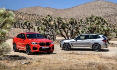 Για πρώτη φορά, η BMW M GmbH επεκτείνει τη γκάμα αυτοκινήτων υψηλών επιδόσεων με μεσαία μοντέλα στις κατηγορίες Sports Activity Vehicle (SAV) και Sports Activity Coupe (SAC). Η BMW X3 M (κατανάλωση μικτού κύκλου: 10.5 l/100 km, εκπομπές στο μικτό κύκλο CO2: 239 g/km*) και η BMW X4 M (κατανάλωση μικτού κύκλου: 10.6 l/100 km, εκπομπές στο μικτό κύκλο CO2: 239 g/km*) θέτουν νέα πρότυπα δυναμικών επιδόσεων, ευελιξίας και ακρίβειας στις αντίστοιχες κατηγορίες τους. Παράλληλα λανσάρονται οι αντίστοιχες εκδόσεις Competition των BMW X3 M και BMW X4 M. Η BMW X3 M Competition (κατανάλωση μικτού κύκλου: 10.5 l/100 km, εκπομπές στο μικτό κύκλο CO2: 239 g/km*) και η BMW X4 M Competition (κατανάλωση μικτού κύκλου: 10.6 l/100 km, εκπομπές στο μικτό κύκλο CO2: 239 g/km*) θα απογειώσουν τη φαντασία των πελατών με την αυξημένη ιπποδύναμη και τον αποκλειστικό εξοπλισμό τους. Νέος, εξακύλινδρος σε σειρά κινητήρας με εξαιρετικές επιδόσεις. Ο ισχυρότερος straight-six βενζινοκινητήρας που έχει εμφανιστεί ποτέ σε μοντέλο BMW M προσφέρει ένα ισχυρό υπόβαθρο για συναρπαστικές επιδόσεις. Υψηλόστροφος και με τεχνολογία M TwinPower Turbo, αποδίδει μέγιστη ισχύ 353 kW/480 hp από 3.000 κυβ. εκ., σε συνδυασμό με μέγιστη ροπή 600 Nm. Η έκδοση bi-turbo που έχει εξελιχθεί ειδικά για τις BMW X3 M Competition και BMW X4 M Competition αυξάνει την ισχύ κατά 22 kW/30 hp, φτάνοντας συνολικά τα 375 kW/510 hp. Άψογη κατανομή ισχύος : M xDrive, Active M Differential. Ο νέος κινητήρας υψηλών επιδόσεων συνεργάζεται με ένα οκτατάχυτο κιβώτιο M Steptronic με Drivelogic και χρησιμοποιεί το νέο σύστημα τετρακίνησης M, που έκανε το ντεμπούτο του στην BMW M5. Το σύστημα τετρακίνησης M xDrive μεταφέρει περισσότερη ροπή στους πίσω τροχούς και προσφέρει στους ιδιοκτήτες των BMW X3 M και BMW X4 M δύο προγράμματα οδήγησης AWD. Η ηλεκτρονικά ελεγχόμενη συνεργασία μεταξύ M xDrive και Active M Differential στον πίσω άξονα επιτρέπει την κατανομή ισχύος μεταξύ των τεσσάρων τροχών, σύμφωνα με τις απαιτήσεις για βέλτιστη πρόσφυσ
