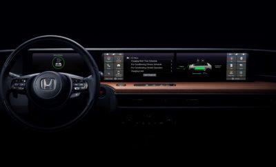 • Η Honda αποκαλύπτει το cockpit του compact ηλεκτρικού πρωτοτύπου της • Ταμπλό που εκτείνεται σε όλο το πλάτος του οχήματος συνδυάζει καθαρές, απέριττες γραμμές με τεχνολογία φιλική προς τον χρήστη • Το ηλεκτρικό πρωτότυπο όχημα θα αποκαλυφθεί στην Έκθεση Αυτοκινήτου της Γενεύης, το Μάρτιο του 2019 Η Honda δημοσίευσε μία φωτογραφία από το εσωτερικό του νέου compact ηλεκτρικού πρωτοτύπου της. Στόχος των σχεδιαστών ήταν να δημιουργήσουν ένα φιλόξενο και ελκυστικό περιβάλλον, εμπνευσμένο από το Urban EV Concept που παρουσιάστηκε στην Έκθεση Αυτοκινήτου της Φρανκφούρτης 2017. Η διεπαφή οδηγού / οχήματος που απεικονίζεται στη φωτογραφία περιλαμβάνει ένα ταμπλό πλήρους πλάτους, με καθαρά σχεδιαστικά στοιχεία και διαισθητική τεχνολογία φιλική προς το χρήστη. Η πρωτότυπη έκδοση του ηλεκτρικού οχήματος θα αποκαλυφθεί στις 5 Μαρτίου στην Έκθεση Αυτοκινήτου της Γενεύης 2019.
