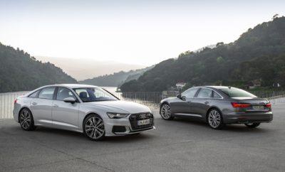 • Πλήθος μοντέλων της Audi διατίθενται με την υβριδική τεχνολογία στο βασικό εξοπλισμό • Η εφαρμογή της υβριδικής τεχνολογίας εξασφαλίζει σημαντική οικονομία καυσίμου και σε πολλές περιπτώσεις συνδυάζεται με πιο ισχυρούς κινητήρες για τα μοντέλα • Χάρη στην υβριδική τεχνολογία το τέλος ταξινόμησης είναι μειωμένο κατά 50%, με αποτέλεσμα χαμηλότερες τιμές λιανικής και σημαντικό οικονομικό όφελος για τον πελάτη Τα Audi Α6, Α7, Α8, Q7 και Q8 αποκτούν ακόμα πιο hi-tech χαρακτήρα, καθώς πλέον διατίθενται σε υβριδική έκδοση! Τα τρία premium executive σεντάν καθώς και τα δύο κορυφαία SUV της Audi, υιοθετούν την υβριδική τεχνολογία στο βασικό τους εξοπλισμό, σε υλοποιήσεις 12 ή 48 Volt. Η συγκεκριμένη τεχνολογία (mild hybrid) τούς εξασφαλίζει σημαντικά οικονομικότερη κατανάλωση καυσίμου. Παράλληλα, ενώ η γκάμα εμπλουτίζεται με νέους, πολύ πιο ισχυρούς κινητήρες, τα μοντέλα – λόγω μειωμένης φορολογίας ένεκα της υβριδικής τεχνολογίας – προσφέρονται σε πολύ χαμηλότερες από πριν τιμές, με το όφελος για τον πελάτη να φτάνει έως και τα 14.000 €! Αξίζει να προστεθεί ότι εκτός των παραπάνω μοντέλων, η υβριδική τεχνολογία βρίσκει εφαρμογή και σε ορισμένους δίλιτρους βενζινοκινητήρες, στα Audi A4, A5 και Q5. Η υβριδική τεχνολογία στους τετρακύλινδρους κινητήρες των μοντέλων λειτουργεί με τάση 12 Volt ενώ στους V6 με 48 Volt και εξασφαλίζει ανάκτηση ενέργειας κατά την πέδηση. Στη φάση αυτή, ο εναλλάκτης εκκίνησης με ιμάντα, η καρδιά του συστήματος της υβριδικής τεχνολογίας, τροφοδοτεί με ηλεκτρική ενέργεια μία ξεχωριστή μπαταρία ιόντων λιθίου, κάτω από το χώρο αποσκευών. Για ένα ευρύ φάσμα ταχυτήτων (για παράδειγμα, στην περίπτωση του Q8 ανάμεσα στα 55 και 160 χλμ./ώρα) το αυτοκίνητο ταξιδεύει με τον κινητήρα εκτός λειτουργίας, εξοικονομώντας καύσιμο. Η μπαταρία ιόντων λιθίου προσφέρει την απαιτούμενη ενέργεια για την αυτόματη και ανεπαίσθητη εκκίνηση του κινητήρα, όταν κριθεί απαραίτητο. Το ενεργειακό όφελος είναι κάθε άλλο παρά αμελητέο: ενδεικτικά, στην περίπτωση του Q8, χάρη στην υ