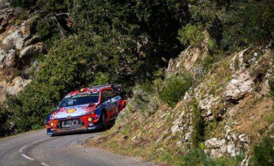 Νίκη για τη Hyundai στο Ράλι Κορσικής του WRC 2019