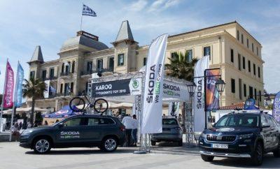 • Η KOSMOCAR-SKODA ήταν ο Official Car Partner στο φετινό Spetsathlon, στο νησί των Σπετσών, που ολοκληρώθηκε με επιτυχία το περασμένο Σαββατοκύριακο, συγκεντρώνοντας ρεκόρ συμμετοχών • Οι Τζένη Μπουλμέτη και Χρήστος Γαρέφης, οι δύο αθλητές της SKODA Team Greece 2019 που συμμετείχαν στους αγώνες, κατέκτησαν μετάλλια μετά από εξαιρετικές εμφανίσεις • Συμμετοχή και της εταιρικής ομάδας της KOSMOCAR, με εργαζόμενους τους εταιρείας να τρέχουν στο 5Κ#charity4sports Run, για στήριξη αθλητών που προετοιμάζονται για τους Ολυμπιακούς και Παραολυμπιακούς Αγώνες του Τόκυο • Tα KODIAQ και KAROQ, τα εντυπωσιακά SUV μοντέλα της SKODA σφράγισαν με την παρουσία τους την επίσημη συμμετοχή της KOSMOCAR-SKODA στο Spetsathlon Με μεγάλη επιτυχία ολοκληρώθηκε το Spetsathlon, στο νησί των Σπετσών, με τη SKODA να εντυπωσιάζει με την παρουσία της, τόσο αγωνιστικά όσο και με τα μοντέλα της. Σε ένα αθλητικό διήμερο που συγκέντρωσε αριθμό συμμετοχών που ξεπέρασε κάθε προηγούμενο, η παρουσία πολλών και σπουδαίων πρωταθλητών, οι εξαιρετικές επιδόσεις αλλά και τα πολλά happenings, επιβεβαίωσαν τον χαρακτηρισμό του Spetsathlon, ως του κορυφαίου ελληνικού αγώνα τριάθλου. Στη φετινή, έβδομη κατά σειρά διοργάνωση, η SKODA είχε ρόλο Official Car Partner με το KODIAQ, το μεγάλο της SUV να έχει ρόλο ουραγού στους ποδηλατικούς αγώνες που διεξήχθησαν, με το πλήρωμά του να φροντίζει για την υποστήριξη των αθλητών. Παράλληλα, ένα KAROQ και ένα επταθέσιο KODIAQ, εκτεθειμένα στην Πλατεία Ποσειδωνίου μπροστά από το ομώνυμο ξενοδοχείο, υποδέχονταν πλήθος ενδιαφερομένων, που ήθελαν να γνωρίσουν από κοντά το «Αυτοκίνητο του 2019» για την Ελλάδα και το πρώτο σε πωλήσεις SUV στην κατηγορία του τη χρονιά που μας πέρασε, αντίστοιχα. Στο φετινό Spetsathlon η KOSMOCAR-SKODA συμμετείχε και με την αγωνιστική της ομάδα, τη SKODA Team Greece 2019. Στους αγώνες έλαβαν μέρος δύο από τους αθλητές της, πραγματοποιώντας εξαιρετική εμφάνιση και ανεβαίνοντας στο βάθρο των νικητών. Η Τζένη Μπουλμέτη κατέκτησε την 1η θέση στις γυνα