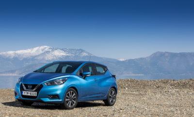 """Μια μοναδική ευκαιρία περιμένει στις εκθέσεις της Nissan τους υποψήφιους αγοραστές του MICRA IG-T 100PS, καθώς μπορούν να το αποκτήσουν με μόλις 149 ευρώ το μήνα. Είτε πρόκειται για ευέλικτη οδήγηση σε αστικό περιβάλλον, ή σε ανοικτό δρόμο, το Nissan MICRA είναι ένα εξαιρετικό αυτοκίνητο. Σχεδιασμένο ειδικά για τους Ευρωπαϊκούς δρόμους, το MICRA είναι ένα ευέλικτο, τεχνολογικά προηγμένο και συναρπαστικό αυτοκίνητο που αποπνέει αίσθημα ασφάλειας, χάρη στην άνετη και προβλέψιμη οδηγική συμπεριφορά του. Το MICRA είναι ο τέλειος συνδυασμός για τον νέο ιδιοκτήτη ενός αυτοκινήτου της κατηγορίας B-hatchback. Το νέο κινητήριο σύνολο βενζίνης του 1.0 λίτρου και ισχύος 100 PS, προσφέρει ακόμα καλύτερη απόκριση και επιτάχυνση, ενώ μπορεί να συνδυαστεί και με το αυτόματο κιβώτιο Xtronic. Το Xtronic διαθέτει τεχνολογία D-step, η οποία προσφέρει μια πιο """"εκλεπτυσμένη"""" παροχή ισχύος και εμπειρία οδήγησης για τον οδηγό, σε σύγκριση με ένα συμβατικό CVT. Αυτό γίνεται εμφανές, όταν πατηθεί """"επιθετικά"""" το πεντάλ του γκαζιού. Επίσης, η τεχνολογία D-step, προσφέρει ταχύτερα downshifts (κατεβάσματα) και καλύτερη οικονομία καυσίμου. Το MICRA με το κιβώτιο Xtronic είναι το τέλειο αυτοκίνητο για αστικά περιβάλλοντα με πυκνή κυκλοφορία, χάρη στις εξαιρετικές οδηγικές του ικανότητες. Η ομαλή αλλαγή ταχυτήτων, καθιστά την οδήγηση πολύ εύκολη και χαλαρωτική και είναι ένας πραγματικά πολύτιμος συνεργάτης σε συνθήκες βεβαρυμμένης κυκλοφορίας. Το νέο MICRA διατίθεται σε τέσσερις εκδόσεις κινητήρων : ατμοσφαιρικός βενζίνης 1.0 λίτρου με 71PS από 12.690€, turbo βενζίνης 1.0 λίτρου 100PS και 117PS από 14.290€ και 15.890€ αντίστοιχα, καθώς turbodiesel 1.5 λίτρων ισχύος 90PS, από 15.190€. Τα νέα υπερτροφοδοτούμενα κινητήρια σύνολα βενζίνης που είναι διαθέσιμα στο Nissan MICRA, αντιπροσωπεύουν ότι πιο φρέσκο σε τεχνολογία. Έχουν σχεδιαστεί για να προσφέρουν στους οδηγούς τον καλύτερο συνδυασμό επιδόσεων και απόδοσης, διατηρώντας το κόστος λειτουργίας του οχήματος στο ελάχιστο. Πρόκειται για ιδιαίτερα ελ"""