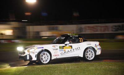 Ο οδηγός από το Τορίνο, Παγκόσμιος Πρωταθλητής του Group N το 1987, 3ος στο Παγκόσμιο Πρωτάθλημα Ράλι του 1988 και 2ος στην αντίστοιχη διοργάνωση του 1989, βρέθηκε πίσω από το τιμόνι ενός Abarth 124 rally στο Rally del Salento. O Alex Fiorio έχει συμμετάσχει στην εξέλιξη του αναβαθμισμένου Abarth 124 rally που παρουσιάστηκε στην αρχή της χρονιάς. Περισσότερα από 5.000χλμ. δοκιμών πραγματοποιήθηκαν με στόχο να βελτιωθεί η απόδοση, η φιλικότητα, αλλά και οι δυνατότητες ρύθμισης του αυτοκινήτου. Μετά από ένα διάλειμμα που διήρκησε για περισσότερα από 15 χρόνια, ο Alex Fiorio αποφάσισε να επιστρέψει στους αγώνες οδηγώντας στο Rally del Salento ένα Abarth 124 rally. Ο έμπειρος Ιταλός οδηγός που κατέκτησε το Παγκόσμιο Πρωτάθλημα στην κατηγορία Ν το 1987 και συμμετείχε στο Παγκόσμιο Πρωτάθλημα Ράλι το 1988 και 1989 εντυπωσίασε με την ταχύτητα του τερματίζοντας στην 6η θέση γενικής αποτελώντας με το Abarth 124 rally τον ταχύτερο συνδυασμό με την κίνηση στους δύο τροχούς. Ο Fiorio γνωρίζει πολύ καλά το Abarth 124 rally αφού αποτέλεσε βασικό μέλος της ομάδας που εξέλιξε το αυτοκίνητο. Πέρυσι η ομάδα συμπλήρωσε περισσότερα από 5.000χλμ. δοκιμών για να βελτιώσει περαιτέρω το αυτοκίνητο, το οποίο ήδη το 2018 είχε κατακτήσει μια εντυπωσιακή σειρά διακρίσεων με περισσότερες από 40 νίκες στην κατηγορία του, καθώς και τους τίτλους του Ευρωπαϊκού και Παγκόσμιου Πρωταθλήματος R-GT. Η επιστροφή του Alex Fiorio στους αγώνες αποτέλεσε και ένα δώρο για τα γενέθλια του πατέρα του Cesare που έγινε 80 ετών. O Cesare Fiorio που διετέλεσε αγωνιστικός διευθυντής των Lancia και Ferrari συμμετείχε με μία Lancia Appia του 1958 στο Targa di Capitanata, έναν αγώνα ιστορικών αυτοκινήτων που διεξήχθη παράλληλα με το Rally del Salento.