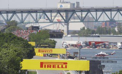 Όπως το Μονακό έτσι και ο Καναδάς δεν είναι συνηθισμένη πίστα αγώνων. Γι' αυτό επιλέξαμε ακόμη μια φορά τις τρεις πιο μαλακές γόμες της γκάμας P Zero Formula 1: Σκληρή θα είναι η C3, μέση θα είναι η C4, και μαλακή θα είναι η C5. Κάπου εδώ όμως τελειώνουν οι ομοιότητες. Η πίστα Gilles Villeneuve – που πήρε το όνομά της από τον πιο διάσημο Καναδό οδηγό – αποτελεί μια μοναδική πρόκληση. Είναι μόλις η δεύτερη φορά φέτος που θα χρησιμοποιηθεί η πιο μαλακή γόμα C5. Χαρακτηριστικά διαδρομής • Το Μόντρεαλ είναι μια ημιμόνιμη εγκατάσταση με λεία άσφαλτο. Μέρος της διαδρομής είναι δρόμοι του πάρκου Jean Drapeau το οποίο είναι ανοικτό στο κοινό για ποικίλες δραστηριότητες κατά τη διάρκεια του έτους. Αυτό έχει ως αποτέλεσμα να είναι ιδιαίτερα «ακάθαρτο» και γλιστερό το οδόστρωμα στην αρχή του τριημέρου. Μετέπειτα ο βαθμός βελτίωσης του κρατήματος είναι υψηλός καθώς η επιφάνεια στρώνεται με γόμα. • Ο Καναδάς είναι ως επί το πλείστον θέμα ελκτικής πρόσφυσης και σταθερότητας στο φρενάρισμα. Μέρος της πρόκλησής του είναι να φέρεις τα εμπρός ελαστικά σε θερμοκρασία λειτουργίας. Δεν υπάρχουν πολλά σημεία διαφυγής οπότε η εμφάνιση αυτοκινήτου ασφαλείας είναι συνήθης εικόνα, που φυσικά επηρεάζει την στρατηγική. • Ο καιρός είναι ευμετάβλητος, συνήθως οι χαμηλές θερμοκρασίες και η βροχή κάνουν την εμφάνισή τους αυτή την εποχή (το 2011 η βροχή οδήγησε σε διακοπή του αγώνα που ολοκληρώθηκε μετά από 4 ώρες και παραμένει το μεγαλύτερο σε διάρκεια grand prix στην ιστορία). Ως αποτέλεσμα του κρύου και των συνθηκών στην πίστα αναμένουμε ένα βαθμό τοπικής παραμόρφωσης στα ελαστικά (graining) ειδικά στην αρχή του τριημέρου. • Σε αντίθεση με το Μονακό υπάρχουν πολλές ευκαιρίες για προσπέρασμα στον Καναδά καθώς η μέση ωριαία ταχύτητα, είναι πολύ πιο υψηλή. Υπάρχουν μεγάλες ευθείες και πολλά σημεία βίαιου φρεναρίσματος. Αυτό καθιστά τη διαδρομή ιδιαίτερα απαιτητική στα φρένα, κάτι που οι ομάδες είναι πάντα υποχρεωμένες να προσέχουν. • Πέρυσι είδαμε μια μίξη στρατηγικών με τους περισσότερους οδηγούς 