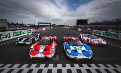 """• Τα Ford GT της ομάδας Ford Chip Ganassi Racing είναι έτοιμα να ριχτούν στη μάχη στο τελευταίο Le Mans που περιλαμβάνει το υπάρχον αγωνιστικό πρόγραμμα της Ford Motor Company στην κατηγορία GT • Η ιδιωτική ομάδα Keating Motorsports συμμετέχει φέτος στο Le Mans με το Ford GT Νο 85 • Η livestream υπηρεσία της Ford δίνει τη δυνατότητα στους χρήστες του διαδικτύου να παρακολουθήσουν φέτος τον 24ωρο αγώνα αντοχής μέσα από το cockpit των τεσσάρων εργοστασιακών Ford GT στο www.fordperformance.tv • Ο φετινός αγώνας των 24 Ωρών του Le Mans ξεκινά στις 15 Ιουνίου στις 4:00 μ.μ. ώρα Ελλάδας Οι ομάδες βρίσκονται ήδη σε θέσεις μάχης με το """"σκηνικό"""" για έναν ιστορικής σημασίας αγώνα στην κλάση GTE να έχει στηθεί πλήρως, εν όψει της θρυλικής 24ωρης αντιπαράθεσης ανθρώπων και μηχανών στο Le Mans, που φέτος θα διεξαχθεί στην ομώνυμη γαλλική πίστα στις 15-16 Ιουνίου. Πενήντα χρόνια μετά το σερί των τεσσάρων νικών της Ford στο Le Mans, η μάχη δεν θα κριθεί φέτος μόνο από το αποτέλεσμα της κόντρας """"Ford v Ferrari"""". Και αυτό γιατί η εταιρεία του μπλε οβάλ καλείται σε λίγες μέρες από σήμερα να… δείξει τα δόντια της όχι μόνο στην ιταλική εταιρεία, αλλά και στις BMW, Aston Martin, Corvette και Porsche! Έτσι, μία πραγματικά τιτάνια """"σύγκρουση"""" ανάμεσα σε έξι ηχηρά ονόματα βρίσκεται και επίσημα πλέον προ των πυλών, με την ομάδα Ford Chip Ganassi Racing να είναι καθ' όλα έτοιμη να σηκώσει το γάντι υιοθετώντας το γνωστό σύνθημα """"Go Like Hell"""". Με πολλές λαμπρές, αλλά και άσχημες στιγμές σε αυτή του την πορεία, το τετραετές αγωνιστικό πρόγραμμα της Ford με το Ford GT στον 24ωρο αγώνα του Le Mans έχει χαρίσει στον κατασκευαστή μοναδικές αναμνήσεις που θα κρατήσουν μία ολόκληρη ζωή. Αν μη τι άλλο, όλα αυτά τα χρόνια ο εμβληματικός αυτός αγώνας αποτέλεσε το ιδανικό πεδίο για καινοτομία και γνώση, τόσο για τις μηχανές, όσο και για τους ανθρώπους που τις κατασκεύασαν, τις εξέλιξαν και τις οδήγησαν. «Αυτό το τελευταίο – για την ομάδα της Ford – Le Mans θα είναι σίγουρα συγκινητικό», δηλώνει ο Mark R"""
