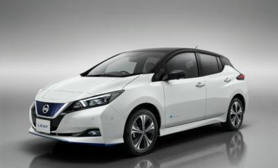 """Οι τελευταίες εκδόσεις της εξαιρετικά επιτυχημένης γκάμας του Nissan LEAF είναι πλέον διαθέσιμες για αγορά σε ολόκληρη την Ευρώπη, συμπεριλαμβανομένου του LEAF e+ με την μεγαλύτερη εμβέλεια, το οποίο έχει ήδη λάβει περισσότερες από 8.000 παραγγελίες από την αποκάλυψή του, τον περασμένο Ιανουάριο. Το Nissan LEAF, έρχεται με μια σειρά από τεχνολογικές αναβαθμίσεις, προσθέτοντας ακόμη περισσότερη αξία στον κάτοχο του πολυβραβευμένου EV. Με την προσθήκη της έκδοσης LEAF e+, τα πλεονεκτήματα του μοντέλου ενισχύονται περαιτέρω, πολλαπλασιάζοντας τα οφέλη για τους τυχερούς ιδιοκτήτες. Αποτελώντας τη """"βιτρίνα"""" του Intelligent Mobility της Nissan, το LEAF απλοποιεί την φιλοσοφία της Ευφυούς Ενσωμάτωσης της μάρκας, με μια εντυπωσιακή δέσμη υπηρεσιών συνδεσιμότητας. Όλες οι νέες εκδόσεις του LEAF προσφέρονται με στάνταρ το νέο σύστημα ψυχαγωγίας NissanConnect, περιλαμβάνοντας χαρακτηριστικά όπως το Apple CarPlay® και το AndroidAuto® που επιτρέπουν την απρόσκοπτη συνδεσιμότητα με τα smartphones. Οι υποψήφιοι αγοραστές του LEAF θα επωφεληθούν και από ένα αναβαθμισμένο σύστημα πλοήγησης, το οποίο διαθέτει την λειτουργία βελτιστοποίησης της διαδρομής TomTom LIVE premium traffic, καθώς και την ενσωματωμένη λειτουργία Online Map Update, όπως και τη λειτουργία Location Chargers για την εύρεση σημείων φόρτισης. Επιπλέον, η ολοκαίνουργια εφαρμογή NissanConnect Services είναι διαθέσιμη για όλες τις νέες εκδόσεις του LEAF. Με την εφαρμογή, οι χρήστες μπορούν να στέλνουν διαδρομές πλοήγησης από το smartphone στο αυτοκίνητο και από το αυτοκίνητο στο smartphone, μέσω της υπηρεσίας πλοήγησης Door-to-Door Navigation, επιτρέποντας την ευκολότερη μετάβαση από και προς το σταθμευμένο σημείο και, κατά συνέπεια, από και προς τον τελικό προορισμό. Παράλληλα, η λειτουργία Remote Climate Control προσφέρει την επιλογή ενεργοποίησης του κλιματισμού όταν το LEAF είναι ακόμα συνδεδεμένο με την πρίζα στο γκαράζ, ενώ πληροφορίες και αναλύσεις για τις διαδρομές και το στυλ οδήγησης, είναι επίσης διαθέσιμες """