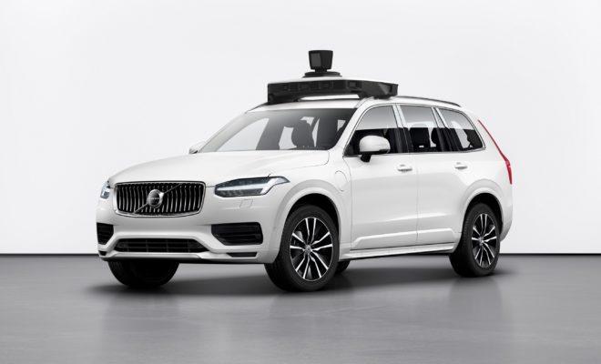 Η Volvo Cars και η Uber παρουσιάζουν αυτοκίνητο παραγωγής