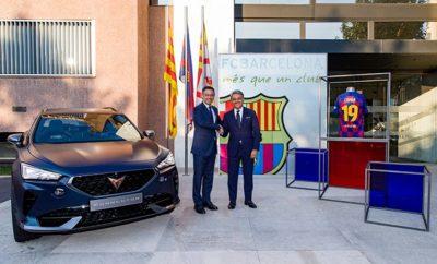 Η CUPRA και η FC Barcelona ξεκινούν μία καινοτόμο συνεργασία για τις επόμενες πέντες αγωνιστικές σεζόν  Στα πλαίσια της συνεργασίας, η CUPRA γίνεται Official Automotive & Mobility Partner της FC Barcelona  Και οι δύο οργανισμοί θα συνεργαστούν σε projects κινητικότητας και θα προωθήσουν την καινοτομία στο Camp Nou Κηφισιά, 26-08-2019. H CUPRA ξεκινάει συνεργασία με την FC Barcelona και γίνεται ο επίσημος Automotive & Mobility Partner της ισπανικής ομάδας για τις επόμενες πέντε αγωνιστικές σεζόν. Αυτή η συμφωνία βασίζεται σε τρείς στρατηγικούς πυλώνες. Πρώτον, και οι δύο εταίροι προέρχονται από την Βαρκελώνη και έχουν ως κοινό όραμα την ενίσχυση της εικόνας της σε όλο τον κόσμο. Δεύτερον, και οι δύο πλευρές προσπαθούν να προωθήσουν τα νέα ταλέντα και τη καινοτομία. Τέλος και οι δύο μοιράζονται τις αξίες του πάθους, της φιλοδοξίας και του επαγγελματισμού. Από αυτήν την άποψη, η συνεργασία μεταξύ CUPRA και FC Barcelona θα συμβάλλει στη δημιουργία μοναδικών εμπειριών για οπαδούς σε όλο τον κόσμο καθώς και στην ανάπτυξη σχεδιών αστικής κινητικότητας γύρω από το στάδιο Camp Nou. O SEAT President and Chairman of the Board of CUPRA, Luca de Meo και ο FC Barcelona President, Josep Maria Bartomeu, συναντήθηκαν χθές στο στάδιο Camp Nou πριν από το πρώτο παιχνίδι της FC Barcelona στην έδρα της, στο πλαίσιο της La Liga 2019-2020. «Αυτή η καινοτόμος συνεργασία με έναν από τους μεγαλύτερους ποδοσφαιρικούς συλλόγους στον κόσμο καταδεικνύει την ισχυρή μας δέσμευση στη μάρκα CUPRA και στη μελλοντική κινητικότητα στη Βαρκελώνη. Επιπλέον, η συνεργασία μας με ένα παγκόσμιο αθλητικό ίδρυμα όπως η FC Barcelona με πάνω από 340 εκατομμύρια οπαδούς, θα ενισχύσει τη στρατηγικής της παγκοσμιοποίησης μας», δήλωσε ο de Meo. Με τη σειρά του, ο Josep Maria Bartomeu, FC Barcelona President, δήλωσε: «Γιορτάζουμε τη συνεργασία με την CUPRA ως επίσημο Automotive and Mobility Partner της FC Barcelona. Βγαίνουμε μαζί σε ένα νέο δρόμο, βασισμένο σε κοινές αξίες όπως το πάθος, η φιλοδοξία, η αξίωση και το