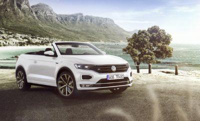 • Η Volkswagen παρουσιάζει το πρώτο «ανοικτό» compact SUV: το T-Roc Cabriolet • Η μαλακή, ηλεκτρικά αναδιπλούμενη οροφή ανοίγει με το πάτημα ενός διακόπτη σε μόλις εννέα δευτερόλεπτα • Ένα μοντέλο που συναρπάζει, με τα SUV γονίδια του T-Roc • Με πρωτότυπο σχεδιασμό, υπερυψωμένα καθίσματα και κορυφαία εξατομίκευση • Προστασία επιβατών σε περίπτωση ανατροπής για πλήρη ασφάλεια ανά πάσα στιγμή • Παγκόσμια πρεμιέρα στην Έκθεση Αυτοκινήτου της Φρανκφούρτης το Σεπτέμβριο, διαθέσιμο για παραγγελία από την Άνοιξη του 2020 Με την παγκόσμια πρεμιέρα του T-Roc Cabriolet η Volkswagen ανοίγει νέους ορίζοντες στα SUV. Ως το πρώτο cabriolet μοντέλο στην κατηγορία, το νέο T-Roc Cabriolet συνδυάζει την εμφάνιση και τη δυναμική των SUV με τη μοναδική οδηγική εμπειρία ενός μοντέλου χωρίς οροφή. Τα υπερυψωμένα καθίσματα - πίσω περισσότερο - και οι πολλές επιλογές εξατομίκευσης συνδυαστικά με τον «ανοικτό» χαρακτήρα, προσφέρουν μοναδική αίσθηση ελευθερίας. Ακολουθώντας την παράδοση τόσο του Beetle όσο και του Golf Cabriolet, το T-Roc Cabriolet εξοπλίζεται με μια κλασική, υψηλής ποιότητας μαλακή οροφή, η οποία αναδιπλώνεται σε μόλις εννέα δευτερόλεπτα. Αυτό είναι εφικτό ακόμη και εν κινήσει και σε ταχύτητες έως και 30 χλμ./ώρα, χάρη σε ένα ηλεκτροϋδραυλικό μηχανισμό ενώ η οροφή ασφαλίζει και απασφαλίζει χρησιμοποιώντας ένα ηλεκτρομηχανικό σύστημα. Στο εσωτερικό του δίθυρου μοντέλου οι επιβάτες έχουν στη διάθεσή τους υψηλά επίπεδα ευελιξίας και γενναιόδωρους χώρους. Το ίδιο ισχύει και για το χώρο αποσκευών των 284 λίτρων που αποτελεί πρότυπο για την κατηγορία των compact SUV. Το βασισμένο στο πλαίσιο MQB προσθιοκίνητο μοντέλο θα διατίθεται με υπερτροφοδοτούμενους βενζινοκινητήρες. Ο τρικύλινδρος 1.0 TSΙ με απόδοση 115 ίππων (ροπή 200 Nm) θα συνδυάζεται με χειροκίνητο κιβώτιο έξι σχέσεων ενώ ο ισχυρότερος τετρακύλινδρος 1.5 TSΙ των 150 ίππων (ροπή 250 Nm) θα διατίθεται με αυτόματο κιβώτιο διπλού συμπλέκτη, επτά σχέσεων. Οι επιβάτες στο T-Roc Cabriolet είναι από κάθε άποψη προστατευμένοι χά