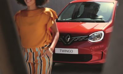 Το νέο Renault TWINGO συμμετέχει στο «Greece Race for the Cure®»