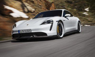 Μετά από αναμονή αρκετών μηνών η Porsche αποφάσισε να μοιραστεί με το φιλοθεάμον κοινό την πρώτη ηλεκτροκίνητη πρόταση της ιστορίας της. Ο λόγος για την Porsche Taycan η οποία αποκαλύφθηκε ταυτόχρονα σε τρία διαφορετικά σημεία του πλανήτη. Διατηρώντας τα περισσότερα από τα σχεδιαστικά χαρακτηριστικά της πρωτότυπης εκδοχής της (βλ. Mission E), η Porsche Taycan διεκδικεί και επισήμως τον τίτλο του κορυφαίου ηλεκτροκίνητου μοντέλου ευρείας παραγωγής. Για του λόγου το αληθές η ισχυρότερη έκδοση του αυτοκινήτου (Turbo S) εφοδιάζεται με δύο ηλεκτροκινητήρες -έναν σε κάθε άξονα- η συνδυαστική απόδοση των οποίων φτάνει τους 761 ίππους. Με αυτονομία 412 χιλιομέτρων και τελική ταχύτητα 260 χλμ./ώρα, η Taycan Turbo S επιταχύνει από στάση στα 100 χλμ./ώρα σε μόλις 2,8 δευτερόλεπτα, αξιοποιώντας με τον καλύτερο δυνατό τρόπο την παρουσία του Launch Control. Στους 680 ίππους φτάνει η μέγιστη ισχύς της Taycan Turbo, η οποία υπολείπεται κατά τέσσερα δέκατα του δευτερολέπτου στη διαδικασία του 0-100 χλμ./ώρα, διαθέτοντας παρόλα αυτά τη δυνατότητα να διανύσει με μία φόρτιση την απόσταση των 450 χιλιομέτρων. Η Porsche Taycan αποτελεί το πρώτο τετράτροχο με ηλεκτρικό κύκλωμα 800 Vοlt γεγονός που εξασφαλίζει την ταχύτερη φόρτιση των μπαταριών ιόντων λιθίου χωρητικότητας 93,4 kWh. Για την ακρίβεια, το εντυπωσιακό σε διαστάσεις και προδιαγραφές τετράθυρο coupe είναι ικανό να υποστηρίξει φόρτιση σε υπερταχυφορτιστές ισχύος 270 kW μειώνοντας με αυτόν τον τρόπο τον χρόνο που απαιτείται για την ανάκτηση του 75% της ενεργειακής χωρητικότητας των μπαταριών σε μόλις 22,5 λεπτά. Κρίσιμο στοιχείο για την αυτονομία του αυτοκινήτου αποτελεί το ιδιαίτερα αποδοτικό σύστημα ανάκτησης ενέργειας κατά την πέδηση, όπως άλλωστε και η βελτιστοποιημένη αεροδυναμική του αμαξώματος (0,22 cd). Σε ό,τι αφορά τέλος το σύστημα μετάδοσης, αυτό αποτελείται από ένα κιβώτιο δύο σχέσεων το οποίο βρίσκεται τοποθετημένο στον πίσω άξονα. Η πρώτη σχέση μετάδοσης εξασφαλίζει την ταχύτερη επιτάχυνση του αυτοκινήτου από στάση, 