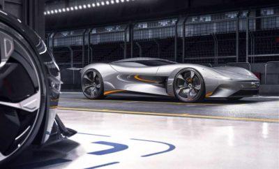Η Jaguar Vision Gran Turismo Coupé