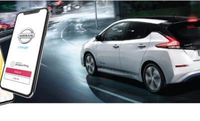 Η νέα εφαρμογή Nissan Charge