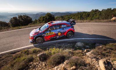 • Η Hyundai Motorsport κατέκτησε τη νίκη και την τρίτη θέση στο Rally de España, τον προτελευταίο γύρο του παγκόσμιου πρωταθλήματος ράλι (WRC) της FIA, • Ο Thierry Neuville κατέκτησε την τρίτη του νίκη στη σεζόν και ο Dani Sordo τερμάτισε στην τρίτη θέση παίρνοντας 40 πολύτιμους βαθμούς για την κατάταξη των κατασκευαστών • Ο Sébastien Loeb ολοκλήρωσε τον αγώνα στην τέταρτη θέση μετά από ένα συναρπαστικό Σαββατοκύριακο για την Hyundai Motorsport, όπου τα τρία πληρώματα της ομάδας κέρδισαν 11 stages. Η Hyundai Motorsport κατέκτησε την 1η και την 3η θέση στο Rally de España αυξάνοντας το προβάδισμα της μάχης των κατασκευαστών του FIA World Rally Championship σε 18 βαθμούς με έναν γύρο να απομένει για την ολοκλήρωση της σεζόν. Είναι η τέταρτη νίκη της σεζόν (μετά την Κορσική, την Αργεντινή και τη Σαρδηνία) για την ομάδα και η πρώτη στην Ισπανία. Οι Thierry Neuville και Nicolas Gilsoul εξασφάλισαν την πρώτη τους νίκη μετά το Ράλι Αργεντινής με μια εξαιρετική εμφάνιση με το Hyundai i20 Coupe WRC. Η τρίτη νίκη των Βέλγων για το 2019 και η 12η συνολικά για την Hyundai Motorsport, ολοκλήρωσε ένα εξαιρετικά συναρπαστικό Σαββατοκύριακο στην Ισπανία. Ο Dani Sordo και ο Carlos del Barrio τερμάτισαν στην τρίτη θέση και οι Sébastien Loeb και Daniel Elena κατέκτησαν την τέταρτη θέση μετά τις 17 ειδικές διαδρομές. Κατακτώκτας 40 βαθμούς για την πρώτη και τρίτη θέση, η Hyundai Motorsport δημιούργησε ένα πλεονέκτημα 18 βαθμών στο πρωτάθλημα των κατασκευαστών με 43 διαθέσιμους στον τελικό γύρο στην Αυστραλία (14-17 Νοεμβρίου). Συνολική τελική κατάταξη – Rally de Espana 1 T. Neuville N. Gilsoul Hyundai i20 Coupe WRC 3:07:39.6 2 O. Tänak M. Järveoja Toyota Yaris WRC +17.2 3 D. Sordo C. del Barrio Hyundai i20 Coupe WRC +17.6 4 S. Loeb D. Elena Hyundai i20 Coupe WRC +53.9 5 J.M Latvala M. Anttila Toyota Yaris WRC +1:00.2 6 E. Evans S. Martin Ford Fiesta WRC +1:14.2 7 T. Suninen J. Lehtinen Ford Fiesta WRC +1:47.6 8 S. Ogier J. Ingrassia Citroën C3 WRC +4:20.5 9 M. Østberg T. Eriksen Citroë