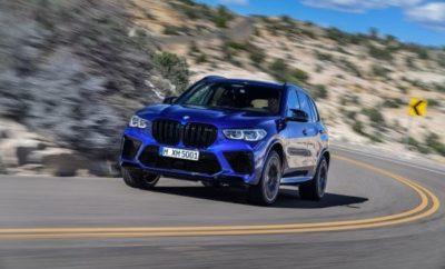 Τρίτη γενιά μοντέλων Sports Activity Vehicle (SAV) και Sports Activity Coupe (SAC) υψηλών επιδόσεων της BMW M GmbH στην πολυτελή κατηγορία. Η συνολική φιλοσοφία τους παραπέμπει στη δυναμική, ευελιξία και ακρίβεια των μοντέλων M – στοιχεία που τώρα συνδυάζονται με την πολυμορφικότητα, εκφραστική σχεδίαση και σύγχρονη πολυτέλεια της οικογένειας BMW X: BMW X 5 M Ισχύς: 441 kW/600 hp, μέγιστη ροπή: 750 Nm, κατανάλωση καυσίμου στο μικτό κύκλο: 13,0 – 12,8 l/100 km, εκπομπές CO2 στο μικτό κύκλο: 296 – 291 g/km. BMW X 5 M Competition Ισχύς: 460 kW/625 hp, μέγιστη ροπή: 750 Nm, κατανάλωση καυσίμου στο μικτό κύκλο: 13,0 – 12,8 l/100 km, εκπομπές CO2 στο μικτό κύκλο: 296 – 291 g/km. BMW X 6 M Ισχύς: 441 kW/600 hp, μέγιστη ροπή: 750 Nm, κατανάλωση καυσίμου στο μικτό κύκλο: 12,7 – 12,5 l/100 km, εκπομπές CO2 στο μικτό κύκλο: 289 – 284 g/km. BMW X 6 M Competition Ισχύς: 460 kW/625 hp, μέγιστη ροπή: 750 Nm, κατανάλωση καυσίμου στο μικτό κύκλο: 12,7 – 12,5 l/100 km, εκπομπές CO2 στο μικτό κύκλο: 289 – 284 g/km. Αισθητή αναβάθμιση ισχύος: υψηλόστροφος V8 κινητήρας 4.400 κ.εκ. με τεχνολογία M TwinPower Turbo. Μέγιστη ισχύς αυξημένη κατά 18 kW/25 hp / 37 kW/50 hp (μοντέλα Competition) συγκριτικά με την προηγούμενη γενιά – στα 460 kW/625 hp. Μέγιστη ροπή: 750 Nm. Εξαιρετικά ανθεκτικές βάσεις κινητήρα. Συστήματα ψύξης και τροφοδοσίας λαδιού προσαρμοσμένα στο μέγιστο επίπεδο δυναμικών επιδόσεων. Σπορ σύστημα εξαγωγής με έντονα συναισθηματικό ήχο. Ευέλικτη και αποτελεσματική μετάδοση: οκτατάχυτο κιβώτιο M Steptronic με Drivelogic. Τα χαρακτηριστικά του συστήματος τετρακίνησης M xDrive που μεταφέρει περισσότερη ροπή στους πίσω τροχούς μπορούν να ρυθμίζονται σε 4WD / 4WD Sport modes. Συνεργασία M xDrive με Active M Differential για βελτιωμένη πρόσφυση και δυναμική συμπεριφορά. Ασυναγώνιστες επιδόσεις: Επιτάχυνση 0 - 100 km/h σε 3,9 δευτ. / 3,8 δευτ. (BMW X5 M Competition και BMW X6 M Competition) – μέχρι 0,4 δευτ. ταχύτερα από τους προκατόχους της. Μοναδική συνολική φιλοσοφία ανεβάζει τον 