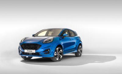 """• Η Ford αποκαλύπτει το σπορ και αθλητικό νέο Puma, το οποίο είναι εμπνευσμένο από τα αυτοκίνητα της SUV κατηγορίας. Η ελκυστική αισθητική προσέγγιση του μοντέλου αντιπροσωπεύει το επόμενο κεφάλαιο στην ανθρωποκεντρική σχεδιαστική φιλοσοφία της Ford • Οι ευφυείς και ευέλικτες λύσεις αποθήκευσης που διασφαλίζουν τον πιο ωφέλιμο χώρο αποσκευών στην κατηγορία είναι από τις καινοτομίες που προέκυψαν μετά από συζητήσεις και αναλύσεις με πελάτες • Η προηγμένη τεχνολογία Ford EcoBoost Hybrid 48-volt αυξάνει την απόδοση, βελτιώνει τις επιδόσεις και ενισχύει τον απολαυστικό οδηγικό χαρακτήρα του νέου Puma • Στις φιλικές προς το χρήστη τεχνολογίες περιλαμβάνονται το Adaptive Cruise Control με Stop & Go, το νέο Local Hazard Information, η ασύρματη φόρτιση κινητού τηλεφώνου και ο ψηφιακός πίνακας οργάνων των 12,3"""" Η Ford αποκάλυψε σήμερα το νέο Ford Puma – ένα συμπαγές crossover μοντέλο εμπνευσμένο από τα αυτοκίνητα της κατηγορίας SUV που συνδυάζει την εντυπωσιακή εξωτερική σχεδίαση και τον καλύτερο ωφέλιμο χώρο αποσκευών στην κατηγορία του με την προηγμένη ήπια υβριδική τεχνολογία στον τομέα των κινητήρων. Το νέο Ford Puma εγκαινιάζει ένα νέο κεφάλαιο στη σχεδιαστική ταυτότητα της Ford, με χαρισματικά στιλιστικά στοιχεία, όπως είναι οι προβολείς, οι οποίοι είναι τοποθετημένοι στην κορυφή των φτερών και οι αθλητικές αεροδυναμικές γραμμές. Οι συμπαγείς αναλογίες του νέου crossover μοντέλου της Ford προσφέρουν αυξημένη απόσταση από το έδαφος, για μία μοναδική οδηγική εμπειρία, εξασφαλίζοντας παράλληλα ένα κορυφαίο ωφέλιμο χώρο αποσκευών χωρητικότητας 456 λίτρων. Οι αγοραστές του Puma μπορούν να απολαμβάνουν κορυφαίες επιδόσεις, άμεση απόκριση, αλλά και χαμηλή κατανάλωση καυσίμου χάρη στην τεχνολογία EcoBoost Hybrid 48-volt της Ford. Το κινητήριο σύνολο ήπιας υβριδικής τεχνολογίας ενσωματώνει ηλεκτρική υποβοήθηση ροπής με έναν χαμηλών τριβών, τρικύλινδρο βενζινοκινητήρα 1.0L EcoBoost, ο οποίος αποδίδει έως 155 ίππους. Ανάμεσα στις προηγμένες τεχνολογίες υποβοήθησης του οδηγού, που"""