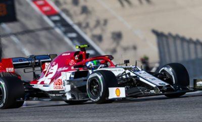 H Alfa Romeo Racing και ο Antonio Gioviazzi συνεχίζουν μαζί και το 2020 στη Formula 1