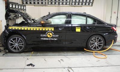 Δοκιμές Euro NCAP: πέντε αστέρια για τη νέα BMW Σειρά 3