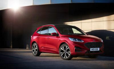 Το νέο Ford Kuga απέσπασε 5 Αστέρια στις δοκιμές του Euro NCAP