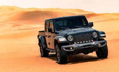 To νέο Jeep® Gladiator που αναμένεται να λανσαριστεί στην Ευρώπη το 2ο 6μηνο του 2020, θα αποτελέσει το επίκεντρο του ενδιαφέροντος στο μεγαλύτερο φεστιβάλ off-road της Μέσης Ανατολής, το Liwa Festival, που πραγματοποιείται στην ομώνυμη όαση της ερήμου Rub' al Khali στο Abu Dhabi. Το πολυαναμενόμενο νέο Jeep® Gladiator θα εντυπωσιάσει το κοινό με την παρουσία του στο Liwa Festival (26 Δεκεμβρίου 2019 - 10 Ιανουαρίου 2020), τη μεγαλύτερη διοργάνωση off-road στη Μέση Ανατολή που πραγματοποιείται στην ομώνυμη όαση στο Abu Dhabi. Οι αμμόλοφοι Tal Moreeb αποτέλεσαν το ιδανικό πεδίο τόσο για τις εντυπωσιακές φωτογραφίες του μοντέλου, όσο και για την επίδειξη των κορυφαίων του εκτός δρόμου δυνατοτήτων. Με ύψος 300 μέτρα και κλίση σχεδόν 50 μοίρες, οι αμμόλοφοι Tal Moreeb είναι οι μεγαλύτεροι στα Ηνωμένα Αραβικά Εμιράτα, αποτελώντας την απόλυτη πρόκληση για οποιοδήποτε όχημα. Με στιλ και εκτός δρόμου δυνατότητες που παραπέμπουν ευθέως στο θρυλικό Jeep Wrangler, το νέο Gladiator εντυπωσιάζει, αποτελώντας παράλληλα το μοναδικό pick-up που έχει τη δυνατότητα να φέρει τον οδηγό και τους επιβάτες σε απόλυτη επαφή με το περιβάλλον λόγω της δυνατότητας αφαίρεσης τμημάτων του αμαξώματος, όπως είναι η οροφή και οι πόρτες. Το κορυφαίο σύστημα τετρακίνησης Rock-Trac® 4x4, συνοδεύει μια πλήρης λίστα προηγμένων συστημάτων υποβοήθησης οδήγησης που κάνουν εξαιρετικά άνετες και ασφαλείς τις εντός και εκτός δρόμου διαδρομές. Το νέο Jeep Gladiator εφοδιάζεται με έναν αποδοτικό κινητήρα diesel 2.2 λίτρων με ισχύ 200 ίππων που συνεργάζεται με το αυτόματο κιβώτιο 8 σχέσεων, ενώ αναμένεται να είναι διαθέσιμο στην Ευρωπαϊκή αγορά το 2ο 6μηνο του 2020.
