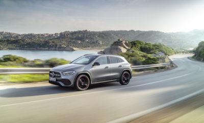 Η νέα GLA είναι το όγδοο μοντέλο που προστίθεται στην τρέχουσα γενιά compact αυτοκινήτων Mercedes-Benz και έρχεται να την ολοκληρώσει. Ταυτόχρονα, αποτελεί τον βασικό εκπρόσωπο της επιτυχημένης οικογένειας SUV της εταιρείας. Η νέα GLA απέκτησε ακόμη πιο επιβλητικό παράστημα από το προηγούμενο μοντέλο με το ύψος της να φτάνει πλέον τα 1611 χιλιοστά (1616 με τις ράγες οροφής), δηλαδή τουλάχιστον δέκα εκατοστά υψηλότερη. Η επίσης υψηλότερη θέση καθίσματος που χαρακτηρίζει το SUV συνοδεύεται από μεγαλύτερο εσωτερικό ύψος στην μπροστινή σειρά. Ο χώρος ποδιών για τους πίσω επιβάτες είναι πολύ πιο γενναιόδωρος παρόλο που το μήκος της νέας GLA έχει μειωθεί κατά ενάμισι εκατοστό. Στα αδιαμφισβήτητα off-road χαρακτηριστικά της συγκαταλέγονται το κάθετο μπροστινό τμήμα, οι κοντοί πρόβολοι μπροστά και πίσω και οι περιμετρικές, προστατευτικές επενδύσεις. Τα μοντέλα 4MATIC περιλαμβάνουν το πακέτο μηχανικού εξοπλισμού Off-road στον βασικό εξοπλισμό, το οποίο περιλαμβάνει ένα πρόσθετο πρόγραμμα οδήγησης, λειτουργία υποβοήθησης οδήγησης σε κατηφόρα και μία off-road προβολή κινούμενων εικόνων στην οθόνη πολυμέσων, καθώς και μία ειδική λειτουργία φωτισμού για εκτός δρόμου οδήγηση σε συνδυασμό με τους προβολείς MULTIBEAM LED. Η νέα GLA κάνει ακόμη ένα βήμα ως προς την ασφάλεια που παρέχουν τα συστήματα υποβοήθησης οδήγησης. Οι διευρυμένες λειτουργίες του πακέτου υποβοήθησης οδήγησης περιλαμβάνουν, ενδεικτικά, τη λειτουργία αλλαγής κατεύθυνσης, τη λειτουργία λωρίδας έκτακτης ανάγκης, τη λειτουργίας προειδοποίησης αποβίβασης, που ειδοποιεί τον οδηγό όταν προσεγγίζουν ποδηλάτες ή οχήματα, και ένα σύστημα προειδοποίησης όταν ανιχνεύονται πεζοί κοντά σε διαβάσεις. Η GLA έχει τη δυνατότητα να αντιδρά όταν αδρανεί ο οδηγός. Η ενεργή υποβοήθηση πέδησης αναλαμβάνει σε πολλές περιπτώσεις να πραγματοποιεί αυτόνομο φρενάρισμα, προκειμένου να αποτραπεί μια σύγκρουση ή να μειωθεί η σφοδρότητά της. Με ταχύτητα έως περ. 60 km/h, το σύστημα μπορεί να επιβραδύνει όταν ανιχνεύει σταματημένα οχήματα και π