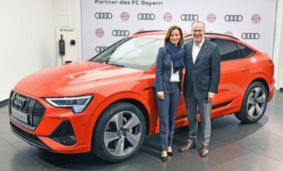 """• Η Audi και η ποδοσφαιρική ομάδα του Μονάχου FC Bayern, επεκτείνουν τη συνεργασία τους μέχρι το 2029 • Οι αστέρες της FC Bayern München θα οδηγούν πλέον το Audi e-tron • Hildegard Wortmann, μέλος του Διοικητικού Συμβουλίου της AUDI AG για το Marketing και τις Πωλήσεις: """"Σύνδεση δύο ισχυρών, premium brands με μακρά ιστορία, που προσφέρουν έντονες συγκινήσεις"""" Η Audi και η Μπάγερν Μονάχου, η διάσημη ποδοσφαιρική ομάδα, συνεχίζουν τη συνεργασία τους για ακόμα περισσότερες επιτυχίες στο μέλλον: τα δύο premium brands, ηγετικές παρουσίες με παγκόσμια δημοφιλία η καθεμία στο χώρο τους, επεκτείνουν τη συνεργασία τους μέχρι το 2029. Η Audi είναι ήδη αποκλειστικός συνεργάτης στο χώρο της αυτοκίνησης της FC Bayern από το 2002. Στην επόμενη δεκαετία, η στρατηγική συνεργασία των δύο brands θα επικεντρωθεί στους τομείς του καινοτόμου μάρκετινγκ και της ηλεκτροκίνησης. Πρώτη και σαφής αναφορά στο νέο πλαίσιο συνεργασίας, όλοι οι παίκτες της πρωταθλήτριας ομάδας της Γερμανίας μπαίνουν στο μαγικό κόσμο της ηλεκτροκίνησης και θα οδηγούν Audi e-tron για το 2020. Η συνεργασία μεταξύ Audi και FC Bayern München έχει ήδη μία άκρως επιτυχημένη ιστορία: Από το 2002, η μάρκα με τα τέσσερα δαχτυλίδια υποστηρίζει την πιο επιτυχημένη γερμανική ποδοσφαιρική ομάδα. Επιπλέον, η Audi είναι μέτοχος της FC Bayern München AG από το 2011. Κοινές εκδηλώσεις και πρωτοβουλίες αποτελούν μέρος αυτής της συνεργασίας. Το Audi Cup, που διεξάγεται κάθε χρόνο λίγο πριν την επίσημη έναρξη της σεζόν, στο Allianz Arena, κατατάσσεται στα κορυφαία τουρνουά υψηλού επιπέδου της Ευρώπης. «Η FC Bayern München ταιριάζει απόλυτα με τη νέα στρατηγική κατεύθυνση της Audi», λέει η Hildegard Wortmann, μέλος του διοικητικού συμβουλίου της AUDI AG για το Marketing και τις Πωλήσεις. Τα δύο ισχυρά εμπορικά σήματα είναι γνωστά για τις πλούσιες συγκινήσεις που προσφέρουν σε όλο τον κόσμο, το καθένα στον τομέα του. «Θέλουμε να είμαστε κοντά στους οπαδούς, τους υπάρχοντες πελάτες αλλά και τους πιθανούς πελάτες μας. Ως αποκλειστικός σ"""