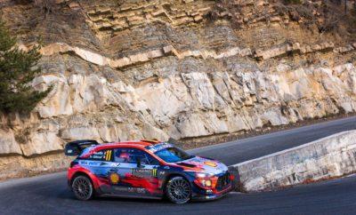 """Ο Thierry και ο Nicolas ξεκίνησαν με θετικό πρόσημο τη σεζόν και υπερασπίστηκαν τον τίτλο της Hyundai στο Πρωτάθλημα Κατασκευαστών του WRC Με νίκη ξεκίνησε τη σεζόν η Hyundai Motorsport στο Rallye Monte-Carlo με τους Thierry Neuville και Nicolas Gilsoul να κατακτούν την πρώτη θέση. Το Βελγικό πλήρωμα πρόσθεσε πέντε επιπλέον βαθμούς στο πρωτάθλημα των οδηγών κερδίζοντας μια συναρπαστική Power Stage μόλις 0,016s. Ο πρώτος θρίαμβος της σεζόν στο Μόντε Κάρλο σηματοδοτεί την 15η νίκη συνολικά στο WRC. """"Ήταν ένας καταπληκτικός τρόπος για να ξεκινήσει η σεζόν"""", δήλωσε ο Thierry. """"Είμαι πραγματικά ευτυχής που καταφέραμε τελικά να νικήσουμε στο Monte-Carlo. Είναι κάτι που κυνηγήσαμε και τελικά το καταφέραμε». """"Είναι πολύ σημαντική για μένα προσωπικά η νίκη μας στο Rallye Monte-Carlo"""", δήλωσε o Team Director Andrea Adamo. """"Ήταν ένας από τους αγώνες που θαύμαζα από την αρχή σε αυτό το άθλημα και η κατάκτηση του βάθρου από τον Thierry και τον Nicolas είναι κάτι ξεχωριστό"""". Οι Sébastien και Daniel ολοκλήρωσαν έναν σκληρό αγώνα στην έκτη θέση, αλλά κατάφεραν να κατακτήσουν δέκα σημαντικούς βαθμούς για το πρωτάθλημα των κατασκευαστών. Ωστόσο, για το νεότερο πλήρωμα της Hyundai Motorsport, Ott και Martin, ο πρώτος τους αγώνας με τα χρώματα της ομάδας ήταν δύσκολος καθώς βγήκαν εκτός δρόμου χωρίς ευτυχώς κανέναν τραυματισμό. Η Hyundai Motorsport έχει πάρει προβάδισμα στο Πρωτάθλημα Κατασκευαστών σε 35 βαθμούς, ενώ ο Thierry Neuville ξεκινά τη σεζόν του 2020 στην κορυφή της κατάταξης των οδηγών, με 30 βαθμούς. Συνολική τελική κατάταξη – Rallye Monte-Carlo 1 T. Neuville / N. Gilsoul (Hyundai i20 Coupe WRC) 3:10:57.6 2 S. Ogier / J. Ingrassia (Toyota Yaris WRC) +12.6 3 E. Evans / S. Martin (Toyota Yaris WRC) +14.3 4 E. Lappi / J. Ferm (Ford Fiesta WRC) +3:09.0 5 K. Rovanperä / J. Halttunen (Toyota Yaris WRC) +4:17.2 6 S. Loeb / D. Elena (Hyundai i20 Coupe WRC) +5:04.7 7 T. Katsuta / D. Barritt (Toyota Yaris WRC) +11:27.9 8 T. Suninen / J. Lehtinen (Ford Fiesta WRC) +13:30.4 9 E. Camill"""