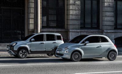 Διατηρώντας την κορυφή των πωλήσεων στην Ευρώπη στα αυτοκίνητα πόλης, τα Fiat 500 και Fiat Panda είναι τα πρώτα μοντέλα της εταιρείας που εφοδιάζονται με ένα νέο υβριδικό σύνολο (Mild Hybrid). Τα 500 Hybrid και Panda Hybrid αποτελούν το πρώτο βήμα προς τον εξηλεκτρισμό της γκάμας της Fiat. Το υβριδικό σύνολο συνδυάζει ένα νέο 3κυλινδρο βενζινοκινητήρα της οικογένειας FireFly με το 12βολτο σύστημα BSG. Η συνολική απόδοση φτάνει τους 70 ίππους. Η κατανάλωση καυσίμου και οι εκπομπές CO2 είναι μειωμένες έως και 30% εξασφαλίζοντας φιλικότερη προς το περιβάλλον κίνηση, αλλά και μικρότερο κόστος χρήσης. Τα 500 και Panda αντιπροσωπεύουν τα δύο πρόσωπα της Fiat. Το πρώτο εστιάζει στο στιλ και το συναίσθημα αποτελώντας ένα ορόσημο του design. Το δεύτερο εστιάζει στην πρακτικότητα και τη φιλικότητα χρήσης. Μαζί συνθέτουν μια ομάδα που καλύπτει κάθε ανάγκη. Αποδεικνύοντας την ολιστική της προσέγγιση όσον αφορά στην προστασία του περιβάλλοντος, η Fiat παρουσιάζει με τα δύο μοντέλα και έναν πρωτοποριακό τρόπο στήριξης της προστασίας των θαλασσών από τη ρύπανση. Τα εμπορικό λανσάρισμα των δύο μοντέλων θα ξεκινήσει μέσα στο πρώτο τρίμηνο του έτους με την ειδική έκδοση Hybrid Launch Edition. Τα Fiat 500 και Fiat Panda είναι οι αδιαφιλονίκητοι ηγέτες στην κατηγορία των αυτοκινήτων πόλης στην Ευρωπαϊκή, αλλά και την Ελληνική αγορά αυτοκινήτου. Αυτά τα δύο μοντέλα επέλεξε ο Όμιλος Fiat Chrysler Automobiles για να εφαρμόσει μια νέα υβριδική τεχνολογία. Τα νέα 500 Hybrid και Panda Hybrid, τα οποία θα ξεκινήσουν να είναι διαθέσιμα το 1ο τρίμηνο του έτους, θα φέρουν επανάσταση για ακόμα μία φορά στις αστικές μετακινήσεις, κάνοντας προσιτή την υβριδική τεχνολογία σε όλους. Παράλληλα με την ευελιξία και την πρακτικότητα, η υβριδική τεχνολογία θα ολοκληρώσει με τον καλύτερο τρόπο τις δύο δημοφιλείς προτάσεις της Fiat. Το 2020 σηματοδοτεί ένα ορόσημο στην ιστορία της Fiat που αριθμεί ήδη 120 χρόνια ζωής. Με την παρουσίαση των νέων εκδόσεων των Fiat 500 και Panda ξεκινά ο εξηλεκτρισμός της γκάμ