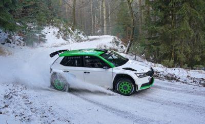 Με SKODA FABIA Rally2 evo στη WRC3 o Όλιβερ Σόλμπεργκ