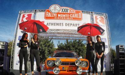 Για δεύτερη συνεχόμενη χρονιά εκκίνησαν κάτω από τον Ιερό Βράχο της Ακρόπολης αγωνιστικά αυτοκίνητα του ένδοξου παρελθόντος, που θα λάβουν μέρος στο 23ο Ιστορικό Ράλλυ Μόντε Κάρλο. Οι εκκινήσεις από διαφορετικές πόλεις για το Ράλλυ Μόντε Κάρλο, όπως και για άλλους σημαντικούς αγώνες της εποχής, ήταν κάτι σύνηθες τις δεκαετίες του '50 και του '60. Η πρώτη εκκίνηση από την ελληνική πρωτεύουσα για τον μεγάλο αγώνα των Μονεγάσκων έλαβε χώρα το 1927, ενώ η τελευταία το 1975. Αυτή την εποχή ήρθε να αναβιώσει για δεύτερη συνεχόμενη χρονιά το ιδιαίτερο αυτό γεγονός, που έλαβε χώρα από τον Ιερό Βράχο στις 29 Ιανουαρίου στις 12.40 το μεσημέρι. Την εκκίνηση από την Αθήνα τίμησε και ο δήμαρχος Αθηναίων κ. Μπακογιάννης, ο οποίος άδραξε την ευκαιρία να συνομιλήσει θερμά με τους φίλους των ιστορικών αυτοκινήτων που παραβρέθηκαν στο χώρο. Εκκίνηση έλαβαν τέσσερα ελληνικά πληρώματα, τα οποία θα διανύσουν συνολικά 3.000 χιλιόμετρα σε αντίξοες συνθήκες και αν όλα πάνε καλά θα δουν τη σημαία του τερματισμού στο πριγκιπάτο του Μονακό στις 5 Φεβρουαρίου. Σε αντίθεση με τη διοργάνωση του 2019, φέτος δεν είχαμε συμμετοχές από άλλες χώρες... Team Les Grecs To Τeam Le Grecs του 2020 απαρτίζουν οι Πέτρος Βασιλόπουλος-Δημήτρης Σταθάκος (Ford Escort MK1 1969, αριθμός συμμετοχής 136), Βάσος Θεοδοσίου-Γιώργος Γεωγακόπουλος (Lancia Beta Coupe 2000 του 1974, αριθμός συμμετοχής 137), Δημήτρης Καλογεράς-Χρήστος Διαμαντόπουλος (Alfa Romeo Alfetta GTV 1976, αριθμός συμμετοχής 209) και Γιώργος Αλεβιζόπουλος-Νικόλαος Παλυβός (Fiat 128 Rally 1974, αριθμός συμμετοχής 292). Όπως είναι ήδη γνωστό το Ιστορικό Ράλλυ Μόντε Κάρλο που διεξάγεται για 23η φορά είναι ένας από τους σημαντικότερους αγώνες στον κόσμο στον τομέα του. Αξίζει να αναφερθεί ότι κάθε χρόνο υποβάλλουν αίτηση για συμμετοχή σε αυτόν περισσότερα από 700 πληρώματα, για να επιλεγούν τελικά περίπου 300. Πολυνίκες του Ιστορικού Ράλλυ Μόντε Κάρλο, που διεξήχθη για πρώτη φορά το 1998, είναι οι Βέλγοι Jose Lareppe και Josheph Lambert με τρεις επιτυχίες