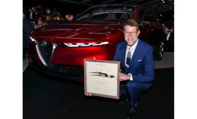 βραβείο του πιο όμορφου concept car στην Alfa Romeo Tonale!