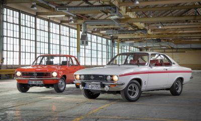 Τα Opel Ascona και Manta γίνονται 50 Ετών