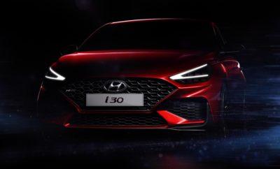 """• Οι πρώτες εικόνες του Νέου i30 αποκαλύπτουν την ανανεωμένη σχεδίασή του • Η Παγκόσμια Πρεμιέρα του Νέου i30 θα πραγματοποιηθεί στο Σαλόνι Αυτοκινήτου της Γενεύης το Μάρτιο του 2020 Η Hyundai Motor αποκάλυψε τις πρώτες εικόνες του Νέου i30 λίγο πριν την Παγκόσμια Πρεμιέρα του στο Σαλόνι Αυτοκινήτου της Γενεύης του 2020. Το Νέο i30 διαθέτει πλήθος σχεδιαστικών αναβαθμίσεων, όπως ανασχεδιασμένους προφυλακτήρες και νέους προβολείς LED, που προσφέρουν μια ισχυρότερη, πιο έντονη και πιο ελκυστική εμφάνιση. Οι εικόνες που παρουσιάστηκαν αφορούν στο μοντέλο N Line, όπου γίνονται αισθητά μερικά από τα πιο σημαντικά νέα σχεδιαστικά χαρακτηριστικά του μοντέλου. Ο ανασχεδιασμένος μπροστινός προφυλακτήρας και η νέα μάσκα με ανανεωμένο μοτίβο πλέγματος συνθέτουν την ευρύτερη και ισχυρότερη εμφάνιση του Νέου i30. Αυτά τα στοιχεία συμπληρώνονται από τους νέους προβολείς LED και τα ενσωματωμένα φώτα ημέρας σε σχήμα V δημιουργώντας μια ακόμη πιο εντυπωσιακή εικόνα του αυτοκινήτου. Επιπρόσθετα σχεδιαστικά χαρακτηριστικά για το Νέο i30 θα ανακοινωθούν τις επόμενες ημέρες που θα περιλαμβάνουν νέους πίσω προφυλακτήρες, πίσω φώτα και νέες ζάντες αλουμινίου 16"""", 17"""" και 18"""". Ο εσωτερικός σχεδιασμός έχει επίσης βελτιωθεί, με ένα νέο ψηφιακό σύστημα οργάνων και μεγαλύτερη οθόνη 10,25 ιντσών, μεταξύ άλλων αναβαθμίσεων. Ταυτόχρονα με το Νέο i30, η Hyundai θα κυκλοφορήσει μια έκδοση N Line του δημοφιλούς i30 Wagon, που σημαίνει ότι το σπορ trim level της εταιρείας θα είναι διαθέσιμο για πρώτη φορά για όλους τους τύπους αμαξώματος του i30. Το Νέο i30 θα αποκαλυφθεί στο Σαλόνι Αυτοκινήτου της Γενεύης το Μάρτιο του 2020. Περισσότερες λεπτομέρειες θα κυκλοφορήσουν στο άμεσο μέλλον."""