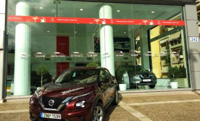 Test Drive του νέου Juke στην Nissan Χαλκιάς