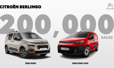"""Σε λιγότερο από ενάμιση χρόνο ύστερα από το λανσάρισμά του, το Citroën Berlingo στην 3η του γενιά, έχει ήδη ξεπεράσει τις 200.000 πωλήσεις παγκοσμίως. Στην Ευρώπη, έχει φτάσει το 16% στην κατηγορία του (επιβατικά και ελαφρά επαγγελματικά) για το 2019, παίζοντας σημαντικό ρόλο στην εξαιρετική πορεία της Citroën, η οποία σημείωσε τη μεγαλύτερη αύξηση στις πωλήσεις της μέσα στο χρόνο, μεταξύ των 12 κορυφαίων κατασκευαστών αυτοκινήτων*. Από το λανσάρισμά του, τον Σεπτέμβριο του 2018 και μέχρι σήμερα, η 3η γενιά του Berlingo έχει σημειώσει περισσότερες από 200.000 πωλήσεις (Berlingo και Berlingo Van), με τις 150.000 να είναι από το 2019, τοποθετώντας το μοντέλο στη δεύτερη θέση των παγκοσμίων πωλήσεων στη γκάμα της Citroën, πίσω μόνο από το C3. Η μεγάλη του επιτυχία για λογαριασμό της Citroën στην Ευρώπη, υπογραμμίζεται από το γεγονός πως στην κατηγορία του για το 2019*, το Berlingo Van είχε το 16% των συνολικών πωλήσεων της κατηγορίας του, με τα 2/3 αυτών να αφορούν την επαγγελματική του εκδοχή και το 1/3 την επιβατική. Η εμπορική επιτυχία της 3ης γενιάς του Berlingo έχει παίξει σημαντικό ρόλο στο momentum της Citroën, της μάρκας που για το 2019* καταγράφηκε ως αυτή με τη μεγαλύτερη ανάπτυξη ανάμεσα στους 12 κατασκευαστές αυτοκινήτων με τις περισσότερες πωλήσεις στην Ευρώπη. Με την άνεση που προσφέρει, τον εξοπλισμό άνεσης και ασφάλειας και ιδιαίτερα με τα τεχνολογικά προηγμένα συστήματα υποβοήθησης οδήγησης, η 3η γενιά του Berlingo, επιβεβαιώνει τη δυναμική της με τις πολύ καλές επιμέρους επιδόσεις ανά έκδοση: o Berlingo Van  Σχεδόν ένα στα τέσσερα οχήματα που πωλούνται, είναι στις εκδόσεις Driver και Worker που έχουν το πληρέστερο πακέτο εξοπλισμού.  Το 80% των αυτοκινήτων είναι εξοπλισμένα με Extenso® Cabin (3 μπροστινά καθίσματα).  Το ένα στα τέσσερα οχήματα είναι εφοδιασμένο με Surround Rear Vision (με κάμερα πίσω και στον καθρέπτη του συνοδηγού, που προβάλλει τις εικόνες σε μια οθόνη 5"""" που τοποθετείται στη θέση του εσωτερικού καθρέπτη του αυτοκινήτου). o Berlingo"""