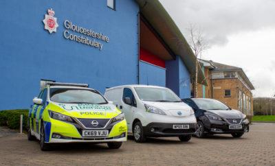 Η αστυνομία του Gloucestershire, στο Ηνωμένο Βασίλειο, περιπολεί με 75 νέα ηλεκτρικά οχήματα