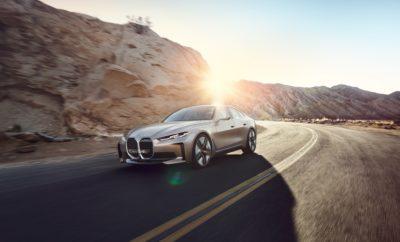 Το BMW Group ανοίγει ένα νέο κεφάλαιο στην ιστορία του με την αποκάλυψη ενός αμιγώς ηλεκτρικού Gran Coupe. Το BMW Concept i4 φέρνει την ηλεκτροκίνηση στην καρδιά της μάρκας BMW και σηματοδοτεί μία νέα εποχή για τη Γνήσια Οδηγική Απόλαυση. Το BMW Concept i4 ανοίγει το δρόμο για το BMW i4, το οποίο θα αρχίσει να κατασκευάζεται το 2021 ως το πρώτο, πλήρως ηλεκτρικό μοντέλο του BMW Group στην πολυτελή μεσαία κατηγορία. Δίνει μία νέα διάσταση στη δυναμική υπεροχή BMW και συνδυάζει τη μοντέρνα, κομψή, σπορ σχεδίαση με την ευρυχωρία και λειτουργικότητα ενός τετράθυρου Gran Coupe – και όλα αυτά με μηδενικές εκπομπές ρύπων. «Το BMW Concept i4 φέρνει την ηλεκτροκίνηση στην καρδιά της μάρκας BMW», δήλωσε ο Adrian van Hooydonk, Ανώτερος Αντιπρόεδρος, BMW Group Design. «Η σχεδίαση είναι δυναμική, απέριττη και κομψή. Με λίγα λόγια: ένα τέλειο μοντέλο BMW με μηδενικές εκπομπές ρύπων». Αυτονομία έως 600 km (WLTP), ισχύς έως 530 hp, επιτάχυνση 0–100 km/h σε περίπου 4,0 δευτερόλεπτα και τελική ταχύτητα πάνω από 200 km/h. Ωστόσο, η οδηγική ποιότητα του BMW Concept i4 δεν εκφράζεται μόνο σε αριθμούς. Η σχεδόν αθόρυβη παραγωγή ισχύος δημιουργεί μία εντελώς νέα αίσθηση δυναμικών επιδόσεων. «Σχεδιαστικά, το BMW Concept i4 χαρακτηρίζεται από απαράμιλλες αναλογίες, εκφραστικότητα και σχολαστική προσοχή στη λεπτομέρεια», προσθέτει ο Domagoj Dukec, Επικεφαλής BMW Design. «Με το προηγμένο σύστημα BMW Curved Display, έχουμε επαναπροσδιορίσει τη φιλοσοφία απεικόνισης πληροφοριών και λειτουργιών αφής για τον οδηγό. Ταυτόχρονα, το BMW Concept i4 μεταφέρει μία αίσθηση βιώσιμης οδηγικής απόλαυσης». Συνολικά, το Concept i4 περιλαμβάνει αρκετά σχεδιαστικά στοιχεία εσωτερικού και εξωτερικού που θα δούμε τόσο στο BMW i4 όσο και σε άλλα ηλεκτροκίνητα μοντέλα παραγωγής. Εξωτερικό – αισθητική που ηλεκτρίζει. Στον αντίποδα της δυναμικής οδηγικής εμπειρίας βρίσκεται ένα σύγχρονο, κομψό εξωτερικό. Οι τέλεια αποτυπωμένες αναλογίες του Gran Coupe δημιουργούν μία αυθεντική, μοντέρνα και γεμάτη αυτοπεποίθηση εμφά