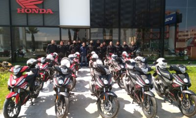 15 καινούργια δίκυκλα Honda Supra GTR150, προς αξιοποίησή τους από την Δημοτική Αστυνομία