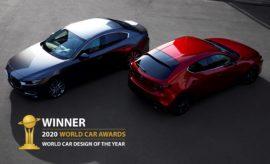 Στο Mazda3 το βραβείο World Car Design of the Year για το 2020