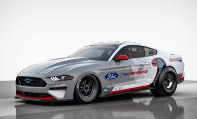 Η Ford Performance παρουσιάζει την αμιγώς ηλεκτρική Mustang Cobra Jet 1400 - το πρώτο εργοστασιακό και πλήρως ηλεκτρικό όχημα της Ford για αγώνες dragster